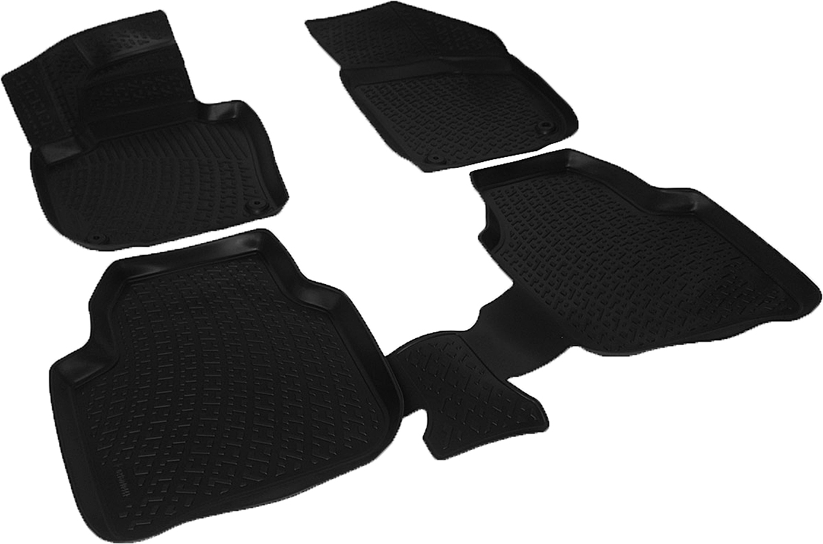 Коврики в салон автомобиля L.Locker, для Skoda Superb (08-) box, 4 штFS-80264Коврики L.Locker производятся индивидуально для каждой модели автомобиля из современного и экологически чистого материала. Изделия точно повторяют геометрию пола автомобиля, имеют высокий борт, обладают повышенной износоустойчивостью, антискользящими свойствами, лишены резкого запаха и сохраняют свои потребительские свойства в широком диапазоне температур (от -50°С до +80°С). Рисунок ковриков специально спроектирован для уменьшения скольжения ног водителя и имеет достаточную глубину, препятствующую свободному перемещению жидкости и грязи на поверхности. Одновременно с этим рисунок не создает дискомфорта при вождении автомобиля. Водительский ковер с предустановленными креплениями фиксируется на штатные места в полу салона автомобиля. Новая технология системы креплений герметична, не дает влаге и грязи проникать внутрь через крепеж на обшивку пола.