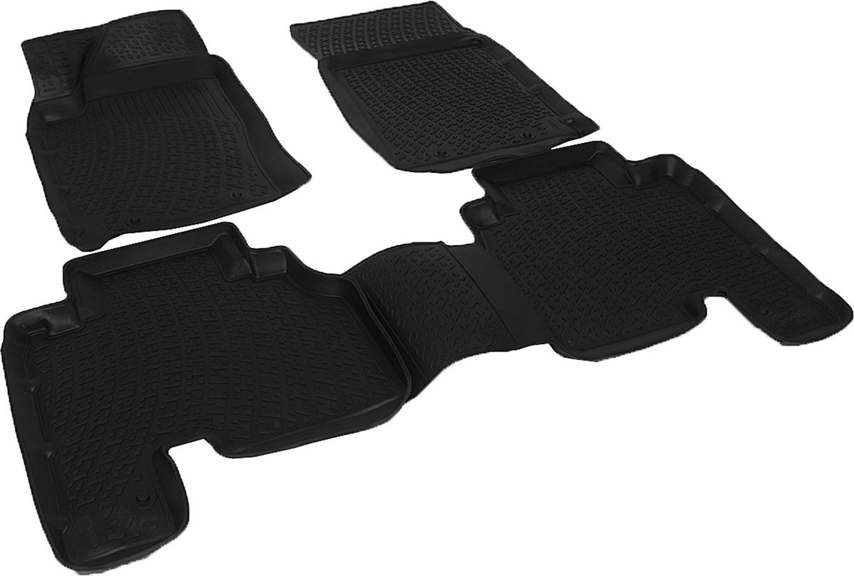 Коврики в салон автомобиля L.Locker, для SangYong Actyon Sport (06-)21395599Коврики L.Locker производятся индивидуально для каждой модели автомобиля из современного и экологически чистого материала. Изделия точно повторяют геометрию пола автомобиля, имеют высокий борт, обладают повышенной износоустойчивостью, антискользящими свойствами, лишены резкого запаха и сохраняют свои потребительские свойства в широком диапазоне температур (от -50°С до +80°С). Рисунок ковриков специально спроектирован для уменьшения скольжения ног водителя и имеет достаточную глубину, препятствующую свободному перемещению жидкости и грязи на поверхности. Одновременно с этим рисунок не создает дискомфорта при вождении автомобиля. Водительский ковер с предустановленными креплениями фиксируется на штатные места в полу салона автомобиля. Новая технология системы креплений герметична, не дает влаге и грязи проникать внутрь через крепеж на обшивку пола.
