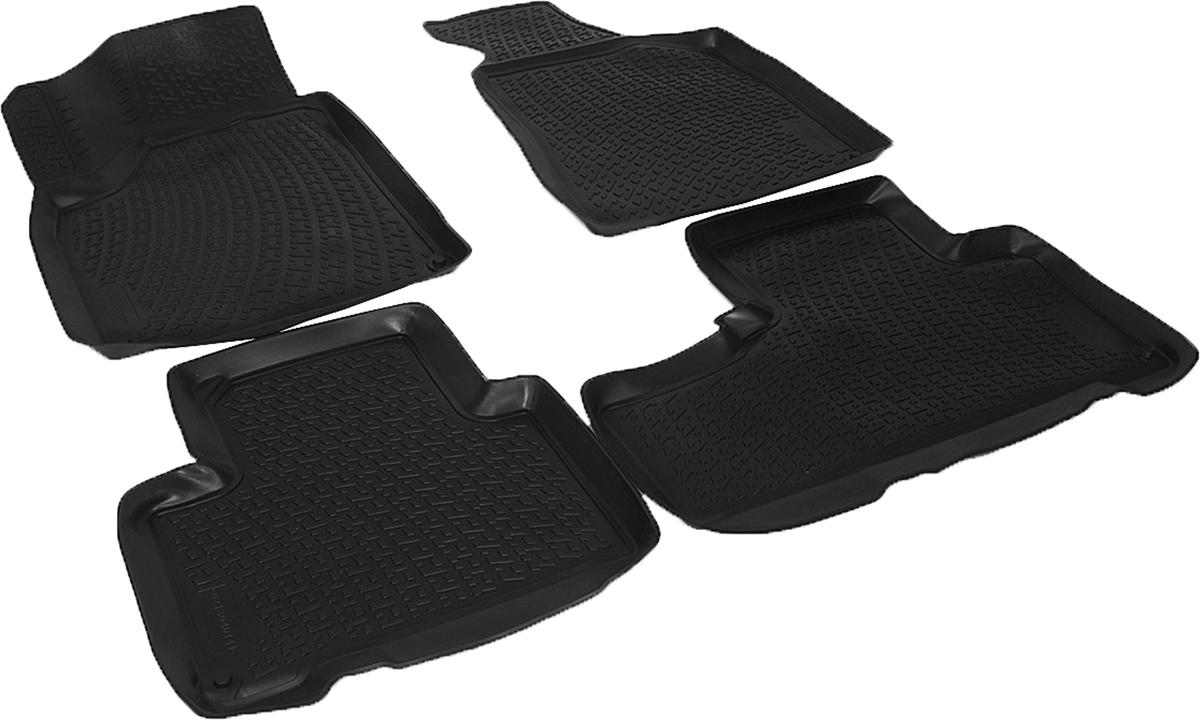 Коврики в салон автомобиля L.Locker, для SsangYong Korando (10-)0202090201Коврики L.Locker производятся индивидуально для каждой модели автомобиля из современного и экологически чистого материала. Изделия точно повторяют геометрию пола автомобиля, имеют высокий борт, обладают повышенной износоустойчивостью, антискользящими свойствами, лишены резкого запаха и сохраняют свои потребительские свойства в широком диапазоне температур (от -50°С до +80°С). Рисунок ковриков специально спроектирован для уменьшения скольжения ног водителя и имеет достаточную глубину, препятствующую свободному перемещению жидкости и грязи на поверхности. Одновременно с этим рисунок не создает дискомфорта при вождении автомобиля. Водительский ковер с предустановленными креплениями фиксируется на штатные места в полу салона автомобиля. Новая технология системы креплений герметична, не дает влаге и грязи проникать внутрь через крепеж на обшивку пола.