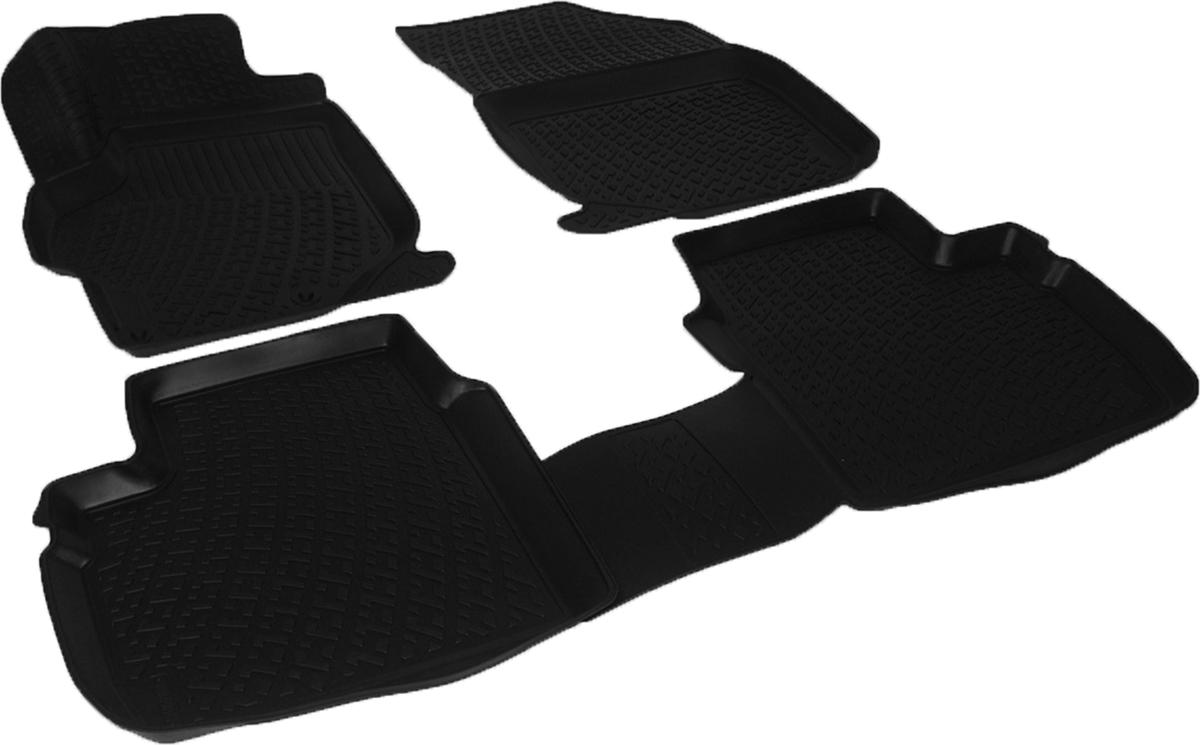Коврики в салон автомобиля L.Locker, для Peugeot 301 sd (12-)21395599Коврики L.Locker производятся индивидуально для каждой модели автомобиля из современного и экологически чистого материала. Изделия точно повторяют геометрию пола автомобиля, имеют высокий борт, обладают повышенной износоустойчивостью, антискользящими свойствами, лишены резкого запаха и сохраняют свои потребительские свойства в широком диапазоне температур (от -50°С до +80°С). Рисунок ковриков специально спроектирован для уменьшения скольжения ног водителя и имеет достаточную глубину, препятствующую свободному перемещению жидкости и грязи на поверхности. Одновременно с этим рисунок не создает дискомфорта при вождении автомобиля. Водительский ковер с предустановленными креплениями фиксируется на штатные места в полу салона автомобиля. Новая технология системы креплений герметична, не дает влаге и грязи проникать внутрь через крепеж на обшивку пола.
