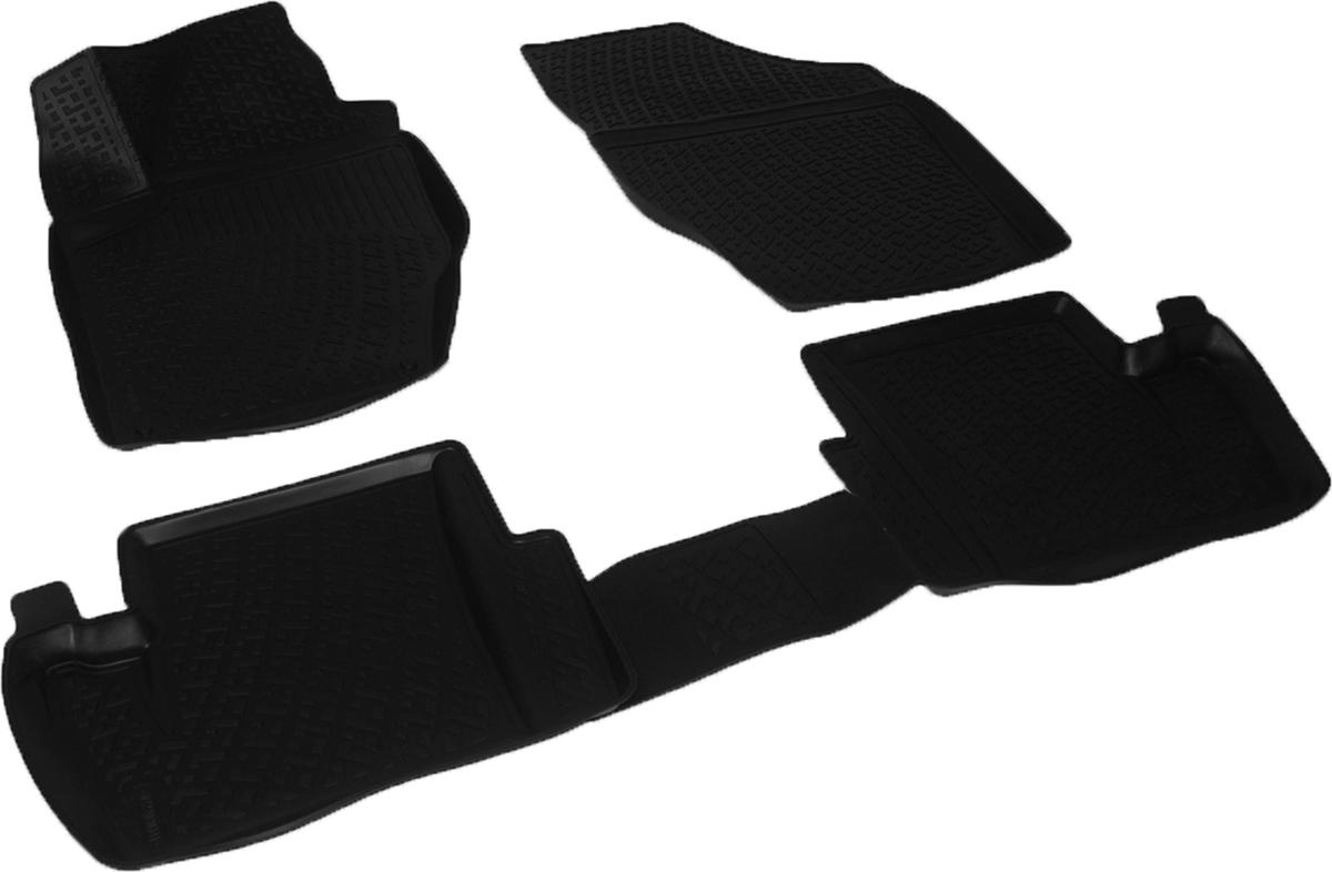 Коврики в салон автомобиля L.Locker, для Citroen C4 II hb (11-)0205010301Коврики L.Locker производятся индивидуально для каждой модели автомобиля из современного и экологически чистого материала. Изделия точно повторяют геометрию пола автомобиля, имеют высокий борт, обладают повышенной износоустойчивостью, антискользящими свойствами, лишены резкого запаха и сохраняют свои потребительские свойства в широком диапазоне температур (от -50°С до +80°С). Рисунок ковриков специально спроектирован для уменьшения скольжения ног водителя и имеет достаточную глубину, препятствующую свободному перемещению жидкости и грязи на поверхности. Одновременно с этим рисунок не создает дискомфорта при вождении автомобиля. Водительский ковер с предустановленными креплениями фиксируется на штатные места в полу салона автомобиля. Новая технология системы креплений герметична, не дает влаге и грязи проникать внутрь через крепеж на обшивку пола.