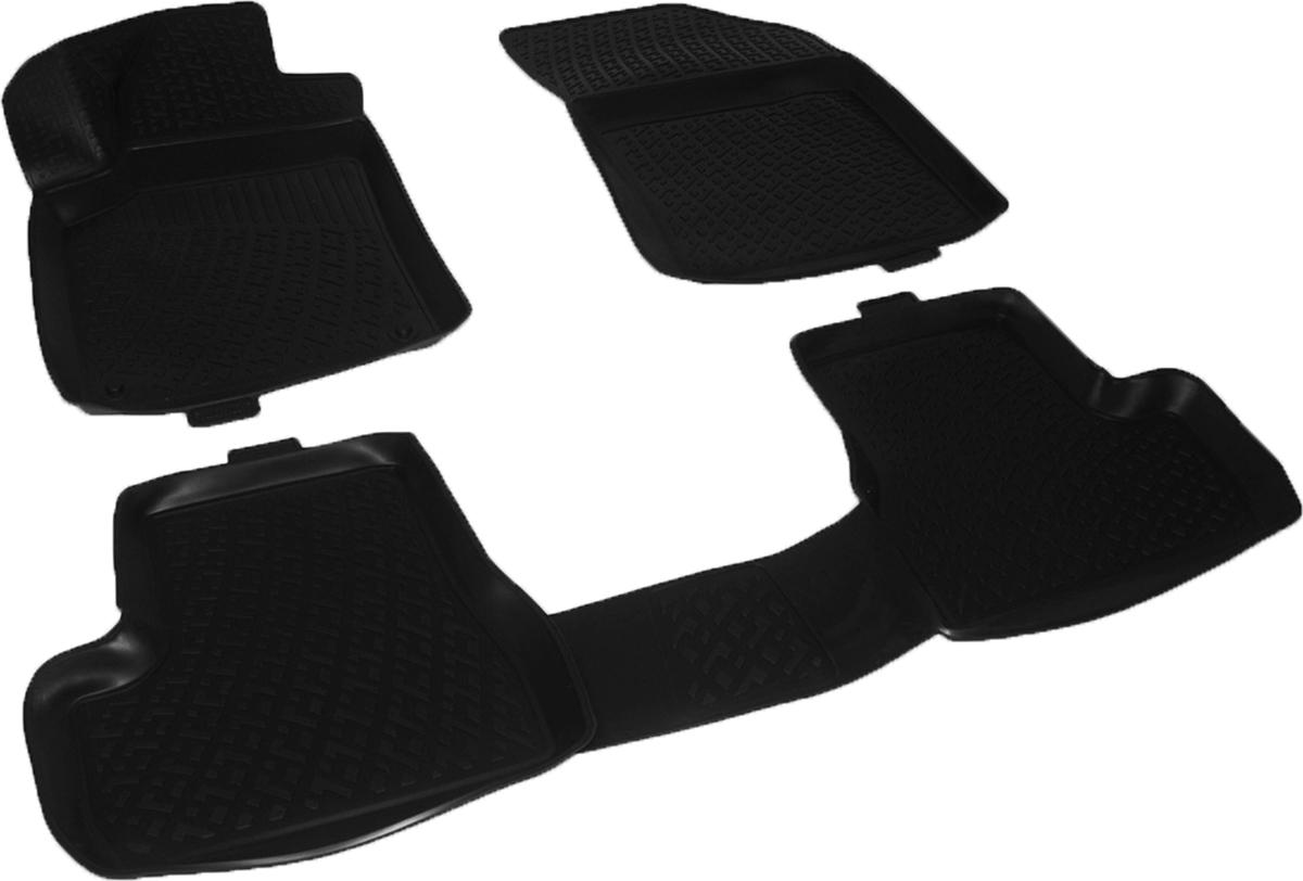 Коврики в салон автомобиля L.Locker, для Citroen C3 mkII hb (09-)CA-3505Коврики L.Locker производятся индивидуально для каждой модели автомобиля из современного и экологически чистого материала. Изделия точно повторяют геометрию пола автомобиля, имеют высокий борт, обладают повышенной износоустойчивостью, антискользящими свойствами, лишены резкого запаха и сохраняют свои потребительские свойства в широком диапазоне температур (от -50°С до +80°С). Рисунок ковриков специально спроектирован для уменьшения скольжения ног водителя и имеет достаточную глубину, препятствующую свободному перемещению жидкости и грязи на поверхности. Одновременно с этим рисунок не создает дискомфорта при вождении автомобиля. Водительский ковер с предустановленными креплениями фиксируется на штатные места в полу салона автомобиля. Новая технология системы креплений герметична, не дает влаге и грязи проникать внутрь через крепеж на обшивку пола.