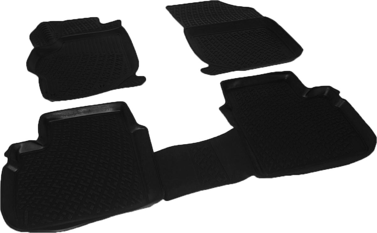 Коврики в салон автомобиля L.Locker, для Citroen C-Elysse sd (12-)21395598Коврики L.Locker производятся индивидуально для каждой модели автомобиля из современного и экологически чистого материала. Изделия точно повторяют геометрию пола автомобиля, имеют высокий борт, обладают повышенной износоустойчивостью, антискользящими свойствами, лишены резкого запаха и сохраняют свои потребительские свойства в широком диапазоне температур (от -50°С до +80°С). Рисунок ковриков специально спроектирован для уменьшения скольжения ног водителя и имеет достаточную глубину, препятствующую свободному перемещению жидкости и грязи на поверхности. Одновременно с этим рисунок не создает дискомфорта при вождении автомобиля. Водительский ковер с предустановленными креплениями фиксируется на штатные места в полу салона автомобиля. Новая технология системы креплений герметична, не дает влаге и грязи проникать внутрь через крепеж на обшивку пола.