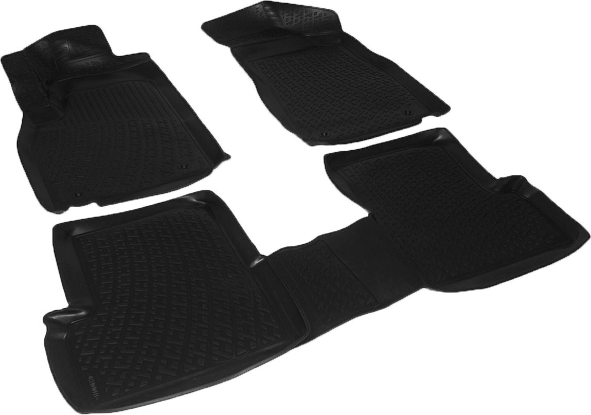 Коврики в салон автомобиля L.Locker, для MG 3 Cross hb (13-), 3 штSPC/CLS-504 BK/GYКоврики L.Locker производятся индивидуально для каждой модели автомобиля из современного и экологически чистого материала. Изделия точно повторяют геометрию пола автомобиля, имеют высокий борт, обладают повышенной износоустойчивостью, антискользящими свойствами, лишены резкого запаха и сохраняют свои потребительские свойства в широком диапазоне температур (от -50°С до +80°С). Рисунок ковриков специально спроектирован для уменьшения скольжения ног водителя и имеет достаточную глубину, препятствующую свободному перемещению жидкости и грязи на поверхности. Одновременно с этим рисунок не создает дискомфорта при вождении автомобиля. Водительский ковер с предустановленными креплениями фиксируется на штатные места в полу салона автомобиля. Новая технология системы креплений герметична, не дает влаге и грязи проникать внутрь через крепеж на обшивку пола.