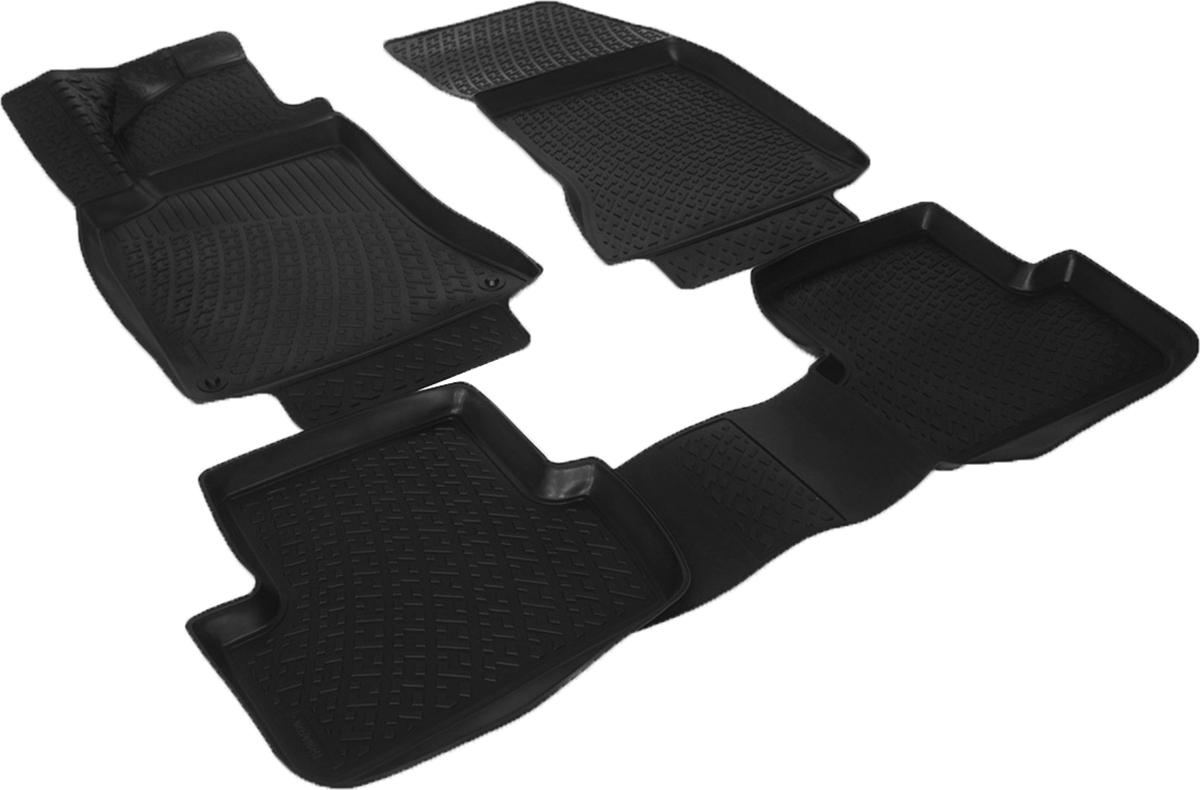 Коврики в салон автомобиля L.Locker, для Mercedes-Benz A-klasse III (W176) (12-)98298123_черныйКоврики L.Locker производятся индивидуально для каждой модели автомобиля из современного и экологически чистого материала. Изделия точно повторяют геометрию пола автомобиля, имеют высокий борт, обладают повышенной износоустойчивостью, антискользящими свойствами, лишены резкого запаха и сохраняют свои потребительские свойства в широком диапазоне температур (от -50°С до +80°С). Рисунок ковриков специально спроектирован для уменьшения скольжения ног водителя и имеет достаточную глубину, препятствующую свободному перемещению жидкости и грязи на поверхности. Одновременно с этим рисунок не создает дискомфорта при вождении автомобиля. Водительский ковер с предустановленными креплениями фиксируется на штатные места в полу салона автомобиля. Новая технология системы креплений герметична, не дает влаге и грязи проникать внутрь через крепеж на обшивку пола.