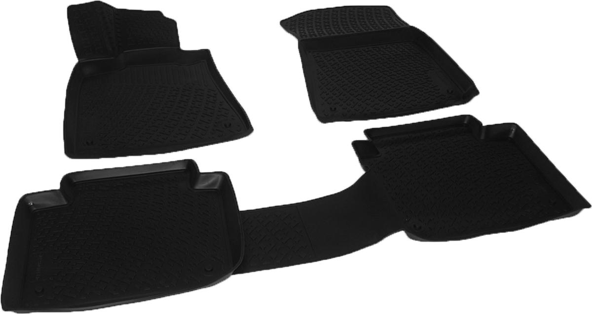 Коврики в салон автомобиля L.Locker, для Lexus GS sd (12-)21395599Коврики L.Locker производятся индивидуально для каждой модели автомобиля из современного и экологически чистого материала. Изделия точно повторяют геометрию пола автомобиля, имеют высокий борт, обладают повышенной износоустойчивостью, антискользящими свойствами, лишены резкого запаха и сохраняют свои потребительские свойства в широком диапазоне температур (от -50°С до +80°С). Рисунок ковриков специально спроектирован для уменьшения скольжения ног водителя и имеет достаточную глубину, препятствующую свободному перемещению жидкости и грязи на поверхности. Одновременно с этим рисунок не создает дискомфорта при вождении автомобиля. Водительский ковер с предустановленными креплениями фиксируется на штатные места в полу салона автомобиля. Новая технология системы креплений герметична, не дает влаге и грязи проникать внутрь через крепеж на обшивку пола.