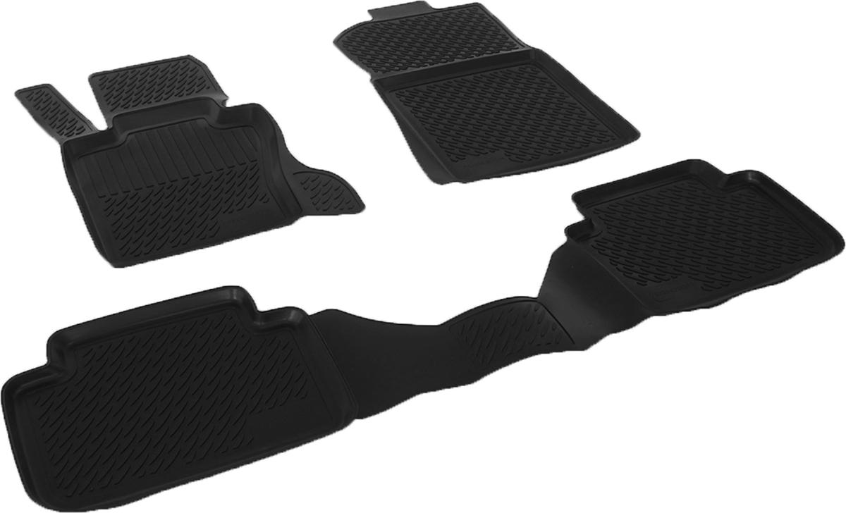 Коврики в салон BMW X 3 (03-) полиуретанАксион Т33Коврики производятся индивидуально для каждой модели автомобиля из современного и экологически чистого материала, точно повторяют геометрию пола автомобиля, имеют высокий борт от 3 см до 4 см., обладают повышенной износоустойчивостью, антискользящими свойствами, лишены резкого запаха, сохраняют свои потребительские свойства в широком диапазоне температур (-50 +80 С)