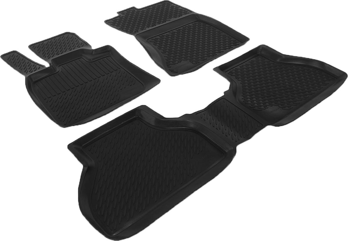Коврики в салон автомобиля L.Locker, для BMW X 5-70 (07-), 3 шт21395599Коврики L.Locker производятся индивидуально для каждой модели автомобиля из современного и экологически чистого материала. Изделия точно повторяют геометрию пола автомобиля, имеют высокий борт, обладают повышенной износоустойчивостью, антискользящими свойствами, лишены резкого запаха и сохраняют свои потребительские свойства в широком диапазоне температур (от -50°С до +80°С). Рисунок ковриков специально спроектирован для уменьшения скольжения ног водителя и имеет достаточную глубину, препятствующую свободному перемещению жидкости и грязи на поверхности. Одновременно с этим рисунок не создает дискомфорта при вождении автомобиля. Водительский ковер с предустановленными креплениями фиксируется на штатные места в полу салона автомобиля. Новая технология системы креплений герметична, не дает влаге и грязи проникать внутрь через крепеж на обшивку пола.