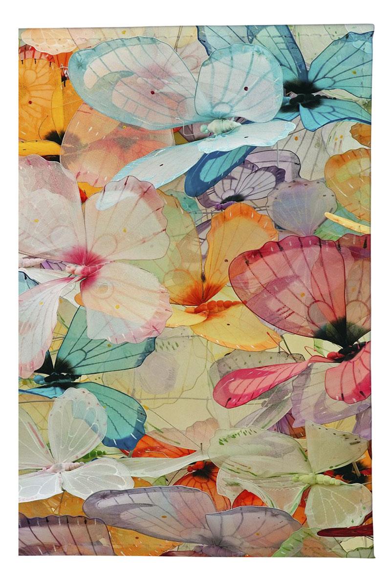 Обложка для паспорта женская Mitya Veselkov Цветные бабочки, цвет: мультиколор. OZAM165OZAM041Качественная обложка Mitya Veselkov Цветные бабочки выполнена из легкого и прочного ПВХ, который надежно защищает важные документы от пыли и влаги. Рисунок нанесён специальным образом и защищён от стирания. Изделие раскладывается пополам.Яркий современный дизайн, который является основной фишкой данной модели, будет радовать глаз.