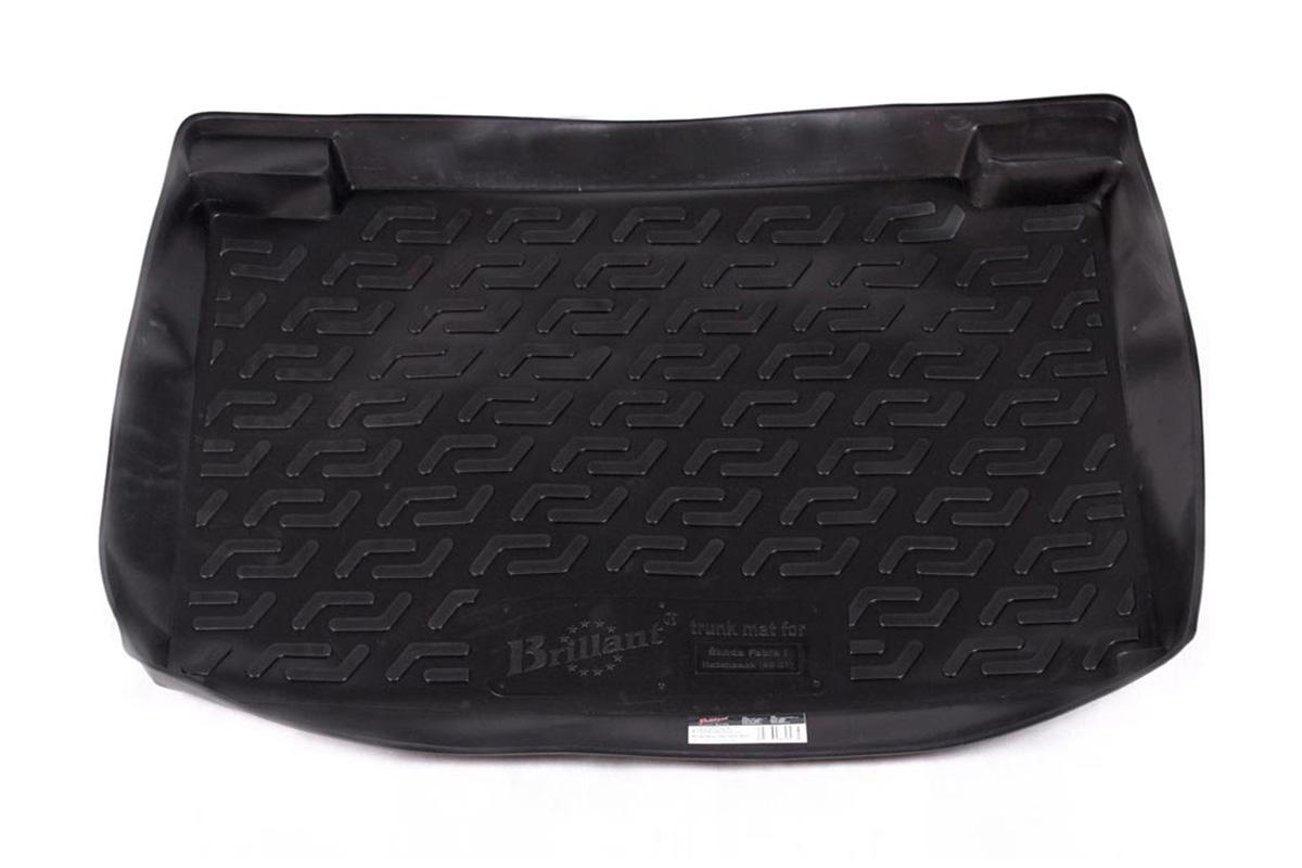 Коврик автомобильный L.Locker для Skoda Fabia hb (99-07), в багажник0116010101Коврики L.Locker производятся индивидуально для каждой модели автомобиля из современного и экологически чистого материала, точно повторяют геометрию пола автомобиля, имеют высокий борт от 4 см до 6 см, обладают повышенной износоустойчивостью, антискользящими свойствами, лишены резкого запаха, сохраняют свои потребительские свойства в широком диапазоне температур (от -50°С до +80°С).