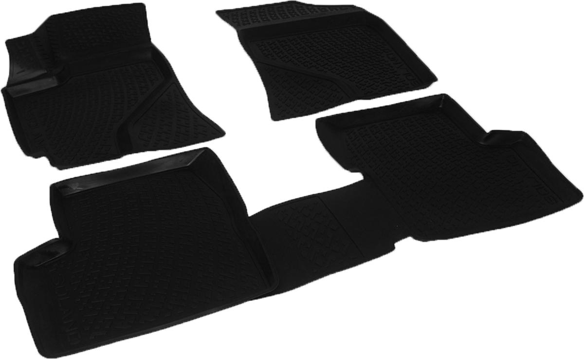 Коврики в салон автомобиля L.Locker, для Lifan Solano 620 (08-), 4 штВетерок 2ГФКоврики L.Locker производятся индивидуально для каждой модели автомобиля из современного и экологически чистого материала. Изделия точно повторяют геометрию пола автомобиля, имеют высокий борт, обладают повышенной износоустойчивостью, антискользящими свойствами, лишены резкого запаха и сохраняют свои потребительские свойства в широком диапазоне температур (от -50°С до +80°С). Рисунок ковриков специально спроектирован для уменьшения скольжения ног водителя и имеет достаточную глубину, препятствующую свободному перемещению жидкости и грязи на поверхности. Одновременно с этим рисунок не создает дискомфорта при вождении автомобиля. Водительский ковер с предустановленными креплениями фиксируется на штатные места в полу салона автомобиля. Новая технология системы креплений герметична, не дает влаге и грязи проникать внутрь через крепеж на обшивку пола.