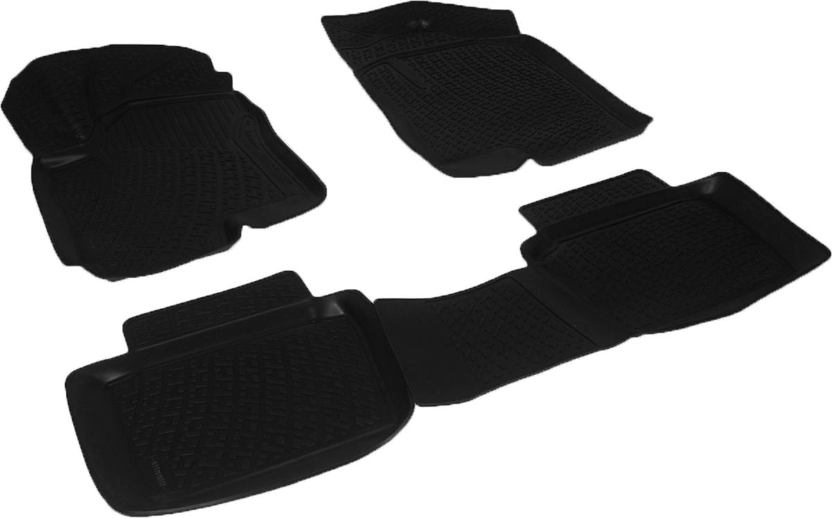 Коврики в салон автомобиля L.Locker, для Changan CS35 (12-)Дива 007Коврики L.Locker производятся индивидуально для каждой модели автомобиля из современного и экологически чистого материала. Изделия точно повторяют геометрию пола автомобиля, имеют высокий борт, обладают повышенной износоустойчивостью, антискользящими свойствами, лишены резкого запаха и сохраняют свои потребительские свойства в широком диапазоне температур (от -50°С до +80°С). Рисунок ковриков специально спроектирован для уменьшения скольжения ног водителя и имеет достаточную глубину, препятствующую свободному перемещению жидкости и грязи на поверхности. Одновременно с этим рисунок не создает дискомфорта при вождении автомобиля. Водительский ковер с предустановленными креплениями фиксируется на штатные места в полу салона автомобиля. Новая технология системы креплений герметична, не дает влаге и грязи проникать внутрь через крепеж на обшивку пола.