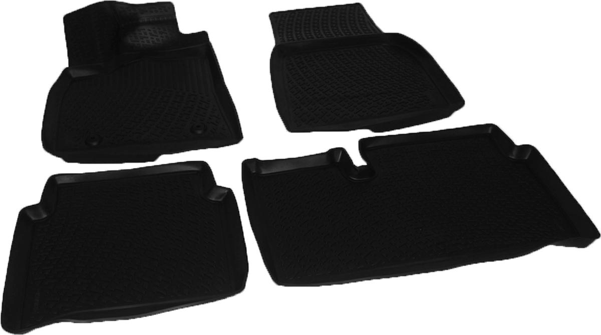 Коврики в салон автомобиля L.Locker, для Tesla Model S sd (12-), 4 штCA-3505Коврики L.Locker производятся индивидуально для каждой модели автомобиля из современного и экологически чистого материала. Изделия точно повторяют геометрию пола автомобиля, имеют высокий борт, обладают повышенной износоустойчивостью, антискользящими свойствами, лишены резкого запаха и сохраняют свои потребительские свойства в широком диапазоне температур (от -50°С до +80°С). Рисунок ковриков специально спроектирован для уменьшения скольжения ног водителя и имеет достаточную глубину, препятствующую свободному перемещению жидкости и грязи на поверхности. Одновременно с этим рисунок не создает дискомфорта при вождении автомобиля. Водительский ковер с предустановленными креплениями фиксируется на штатные места в полу салона автомобиля. Новая технология системы креплений герметична, не дает влаге и грязи проникать внутрь через крепеж на обшивку пола.