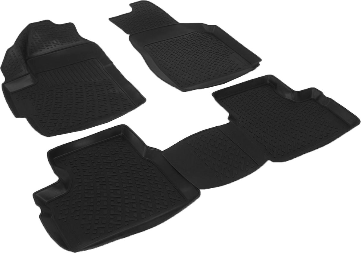 Коврики в салон автомобиля L.Locker, для Daewoo Matiz (98-)FS-80423Коврики L.Locker производятся индивидуально для каждой модели автомобиля из современного и экологически чистого материала. Изделия точно повторяют геометрию пола автомобиля, имеют высокий борт, обладают повышенной износоустойчивостью, антискользящими свойствами, лишены резкого запаха и сохраняют свои потребительские свойства в широком диапазоне температур (от -50°С до +80°С). Рисунок ковриков специально спроектирован для уменьшения скольжения ног водителя и имеет достаточную глубину, препятствующую свободному перемещению жидкости и грязи на поверхности. Одновременно с этим рисунок не создает дискомфорта при вождении автомобиля. Водительский ковер с предустановленными креплениями фиксируется на штатные места в полу салона автомобиля. Новая технология системы креплений герметична, не дает влаге и грязи проникать внутрь через крепеж на обшивку пола.