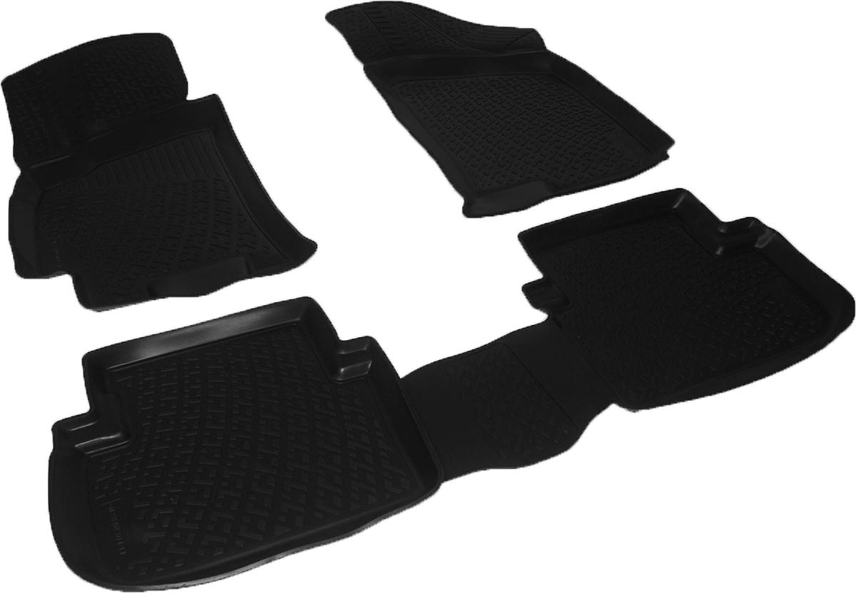 Коврики в салон автомобиля L.Locker, для Daewoo Lanos (97-)Аксион Т-33Коврики L.Locker производятся индивидуально для каждой модели автомобиля из современного и экологически чистого материала. Изделия точно повторяют геометрию пола автомобиля, имеют высокий борт, обладают повышенной износоустойчивостью, антискользящими свойствами, лишены резкого запаха и сохраняют свои потребительские свойства в широком диапазоне температур (от -50°С до +80°С). Рисунок ковриков специально спроектирован для уменьшения скольжения ног водителя и имеет достаточную глубину, препятствующую свободному перемещению жидкости и грязи на поверхности. Одновременно с этим рисунок не создает дискомфорта при вождении автомобиля. Водительский ковер с предустановленными креплениями фиксируется на штатные места в полу салона автомобиля. Новая технология системы креплений герметична, не дает влаге и грязи проникать внутрь через крепеж на обшивку пола.