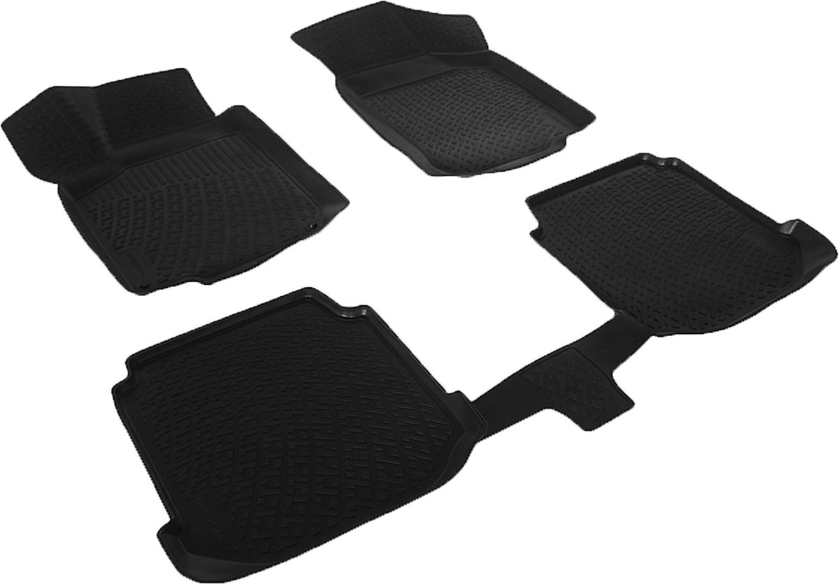 Коврики в салон автомобиля L.Locker, для Audi A3 (8L) (96-03), 4 шткн14,4сКоврики L.Locker производятся индивидуально для каждой модели автомобиля из современного и экологически чистого материала. Изделия точно повторяют геометрию пола автомобиля, имеют высокий борт, обладают повышенной износоустойчивостью, антискользящими свойствами, лишены резкого запаха и сохраняют свои потребительские свойства в широком диапазоне температур (от -50°С до +80°С). Рисунок ковриков специально спроектирован для уменьшения скольжения ног водителя и имеет достаточную глубину, препятствующую свободному перемещению жидкости и грязи на поверхности. Одновременно с этим рисунок не создает дискомфорта при вождении автомобиля. Водительский ковер с предустановленными креплениями фиксируется на штатные места в полу салона автомобиля. Новая технология системы креплений герметична, не дает влаге и грязи проникать внутрь через крепеж на обшивку пола.