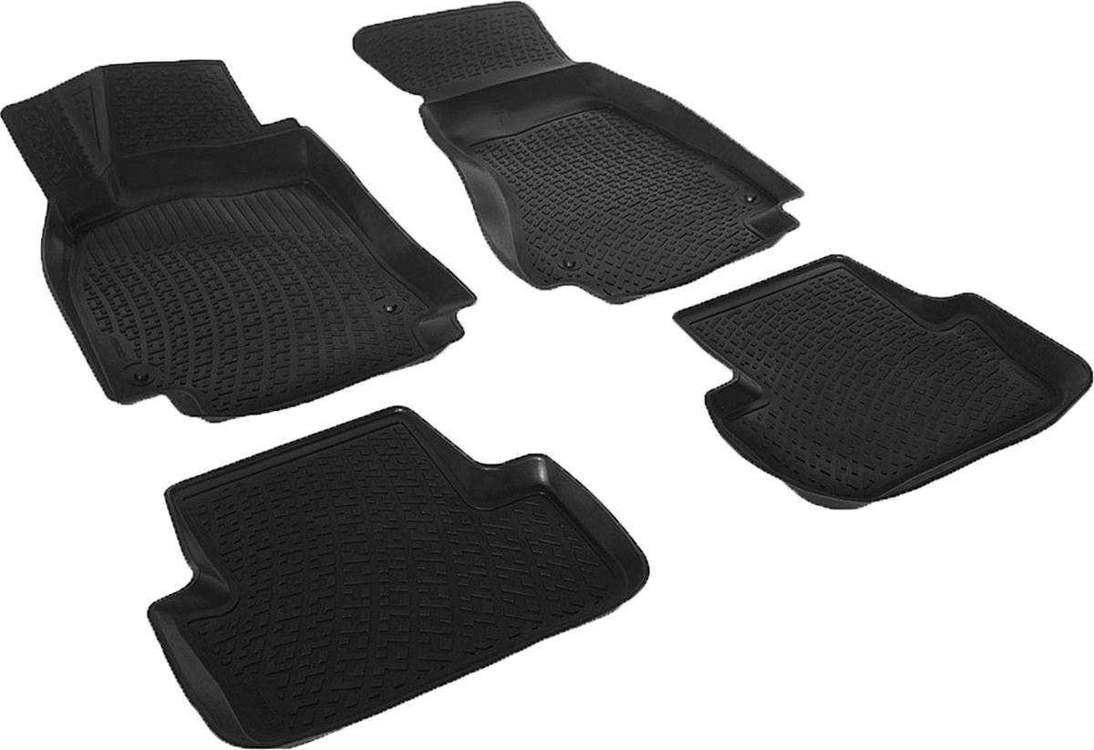 Коврики в салон автомобиля L.Locker, для Audi A4 B8 sd (07-)FS-80264Коврики L.Locker производятся индивидуально для каждой модели автомобиля из современного и экологически чистого материала. Изделия точно повторяют геометрию пола автомобиля, имеют высокий борт, обладают повышенной износоустойчивостью, антискользящими свойствами, лишены резкого запаха и сохраняют свои потребительские свойства в широком диапазоне температур (от -50°С до +80°С). Рисунок ковриков специально спроектирован для уменьшения скольжения ног водителя и имеет достаточную глубину, препятствующую свободному перемещению жидкости и грязи на поверхности. Одновременно с этим рисунок не создает дискомфорта при вождении автомобиля. Водительский ковер с предустановленными креплениями фиксируется на штатные места в полу салона автомобиля. Новая технология системы креплений герметична, не дает влаге и грязи проникать внутрь через крепеж на обшивку пола.