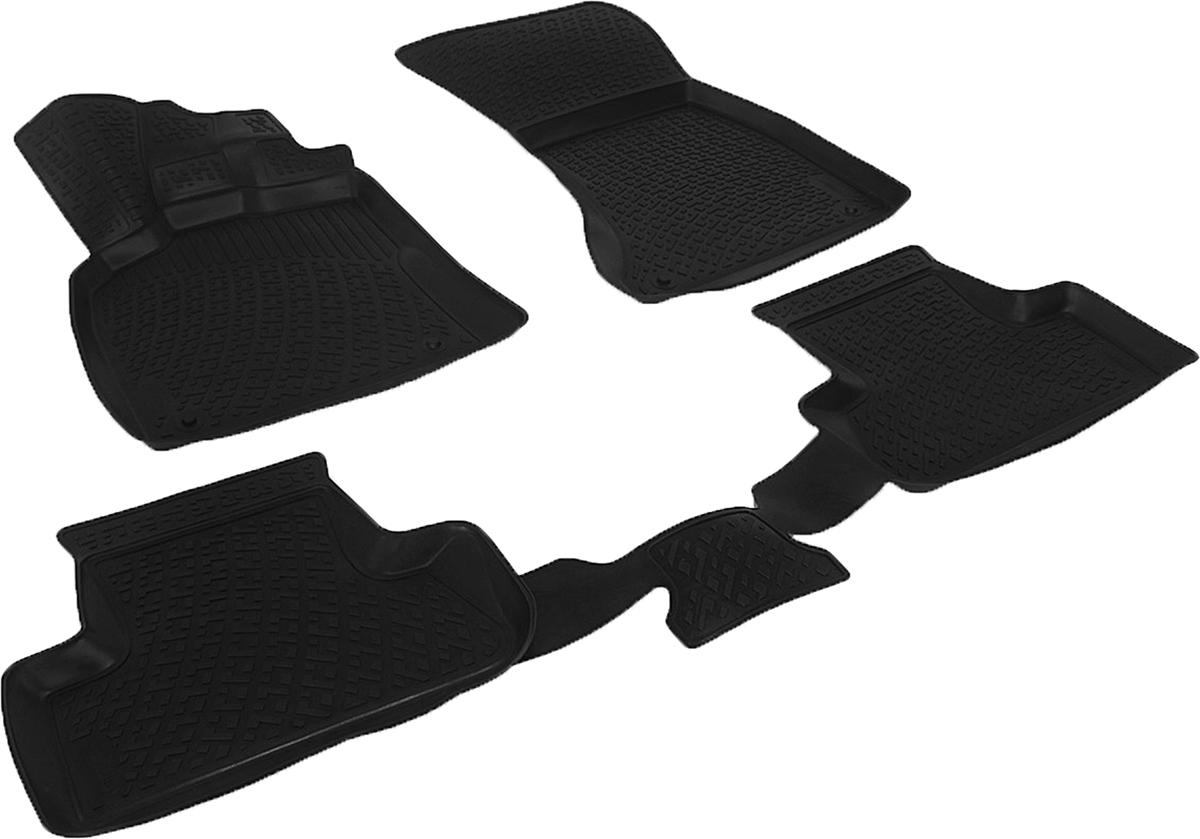 Коврики в салон автомобиля L.Locker, для Audi Q5 (08-12)FS-80423Коврики L.Locker производятся индивидуально для каждой модели автомобиля из современного и экологически чистого материала. Изделия точно повторяют геометрию пола автомобиля, имеют высокий борт, обладают повышенной износоустойчивостью, антискользящими свойствами, лишены резкого запаха и сохраняют свои потребительские свойства в широком диапазоне температур (от -50°С до +80°С). Рисунок ковриков специально спроектирован для уменьшения скольжения ног водителя и имеет достаточную глубину, препятствующую свободному перемещению жидкости и грязи на поверхности. Одновременно с этим рисунок не создает дискомфорта при вождении автомобиля. Водительский ковер с предустановленными креплениями фиксируется на штатные места в полу салона автомобиля. Новая технология системы креплений герметична, не дает влаге и грязи проникать внутрь через крепеж на обшивку пола.