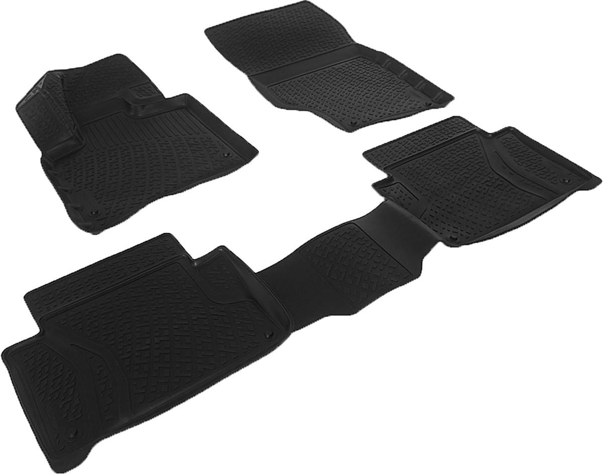 Набор автомобильных 3D-ковриков L.Locker для Audi Q7 (05-), в салон, 4 штTER-510 BEКоврики L.Locker производятся индивидуально для каждой модели автомобиля из современного и экологически чистого материала, точно повторяют геометрию пола автомобиля, имеют высокий борт от 3 см до 4 см, обладают повышенной износоустойчивостью, антискользящими свойствами, лишены резкого запаха, сохраняют свои потребительские свойства в широком диапазоне температур (от -50°С до +80°С).