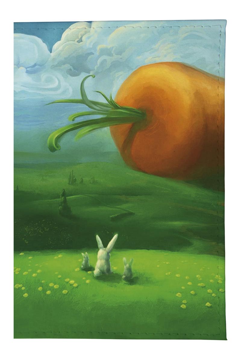 Обложка для автодокументов женская Mitya Veselkov Заяц и морковка, цвет: мультицвет. AUTOZAM044VCA-00Стильная обложка для автодокументов Mitya Veselkov Заяц и морковка не только поможет сохранить внешний вид ваших документов и защитить их от повреждений, но и станет стильным аксессуаром, идеально подходящим вашему образу.Она выполнена из ПВХ, внутри имеет съемный вкладыш, состоящий из шести файлов для документов, один из которых формата А5.Такая обложка поможет вам подчеркнуть свою индивидуальность и неповторимость!Обложка для автодокументов стильного дизайна может быть достойным и оригинальным подарком.