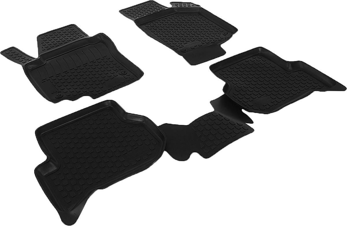 Коврики в салон автомобиля L.Locker, для Volkswagen Golf Plus (04-), 4 штFS-80264Коврики L.Locker производятся индивидуально для каждой модели автомобиля из современного и экологически чистого материала. Изделия точно повторяют геометрию пола автомобиля, имеют высокий борт, обладают повышенной износоустойчивостью, антискользящими свойствами, лишены резкого запаха и сохраняют свои потребительские свойства в широком диапазоне температур (от -50°С до +80°С). Рисунок ковриков специально спроектирован для уменьшения скольжения ног водителя и имеет достаточную глубину, препятствующую свободному перемещению жидкости и грязи на поверхности. Одновременно с этим рисунок не создает дискомфорта при вождении автомобиля. Водительский ковер с предустановленными креплениями фиксируется на штатные места в полу салона автомобиля. Новая технология системы креплений герметична, не дает влаге и грязи проникать внутрь через крепеж на обшивку пола.
