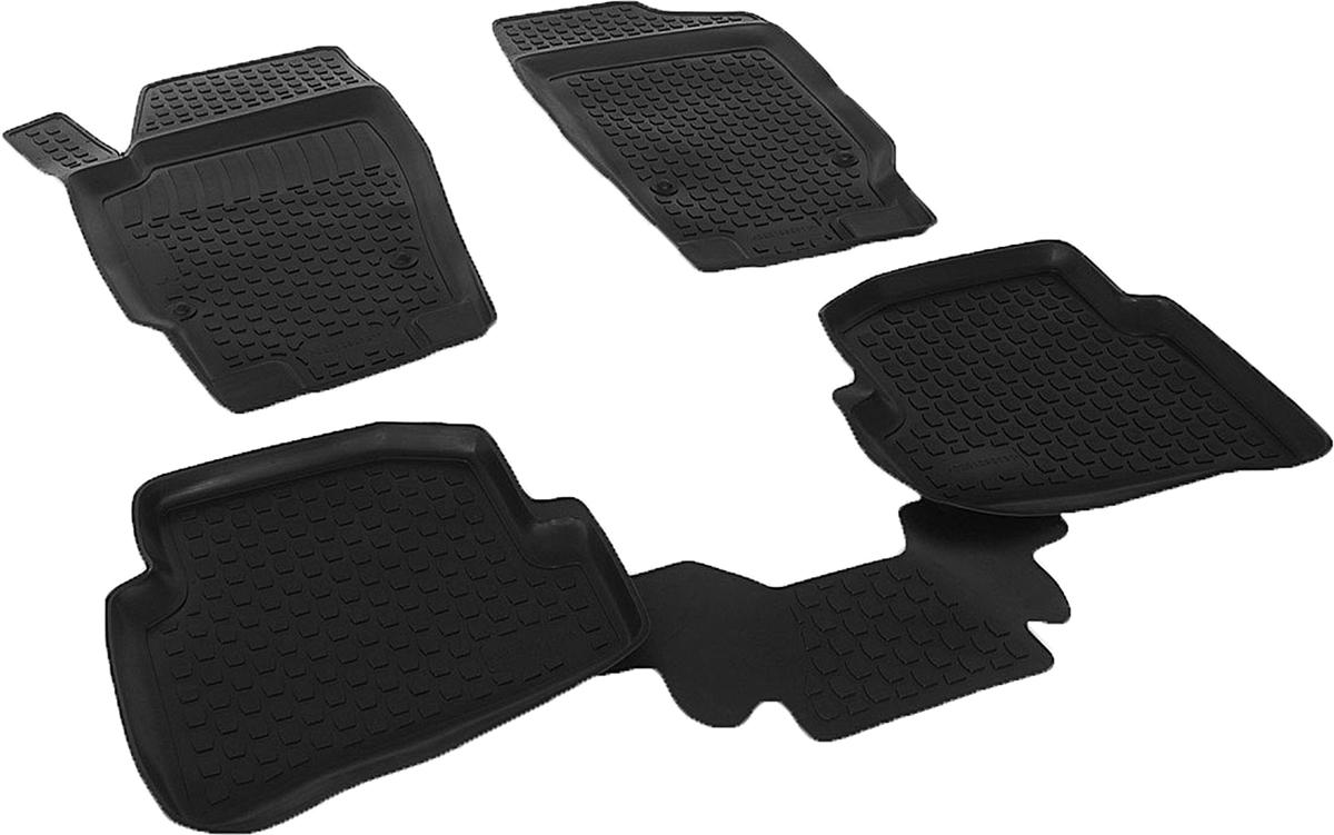 Набор автомобильных ковриков L.Locker для Volkswagen Polo V (09-), в салон, 4 шт0201090101Коврики L.Locker производятся индивидуально для каждой модели автомобиля из современного и экологически чистого материала, точно повторяют геометрию пола автомобиля, имеют высокий борт от 3 см до 4 см, обладают повышенной износоустойчивостью, антискользящими свойствами, лишены резкого запаха, сохраняют свои потребительские свойства в широком диапазоне температур (от -50°С до +80°С).