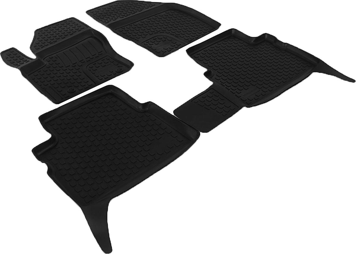 Набор автомобильных ковриков L.Locker для Ford Kuga (08-), в салон, 4 шт0207130101Коврики L.Locker производятся индивидуально для каждой модели автомобиля из современного и экологически чистого материала, точно повторяют геометрию пола автомобиля, имеют высокий борт от 3 см до 4 см, обладают повышенной износоустойчивостью, антискользящими свойствами, лишены резкого запаха, сохраняют свои потребительские свойства в широком диапазоне температур (от -50°С до +80°С).