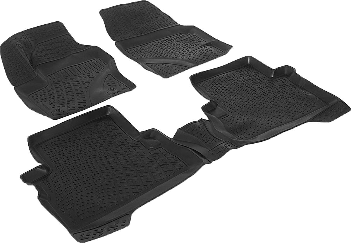 Набор автомобильных 3D-ковриков L.Locker для Ford Kuga II (12-), в салон, 4 шт0202090201Коврики L.Locker производятся индивидуально для каждой модели автомобиля из современного и экологически чистого материала, точно повторяют геометрию пола автомобиля, имеют высокий борт от 3 см до 4 см, обладают повышенной износоустойчивостью, антискользящими свойствами, лишены резкого запаха, сохраняют свои потребительские свойства в широком диапазоне температур (от -50°С до +80°С).