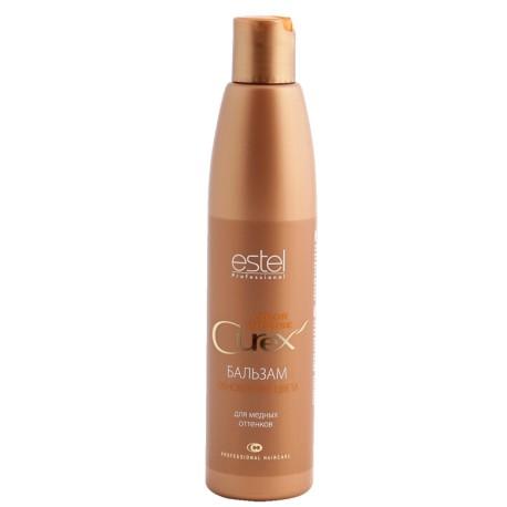 Estel Curex Color Intense Бальзам Обновление цвета для медных оттенков 250 мл81274202Бальзам «Обновление Цвета» для медных оттенков Estel Curex Color Intense подчеркивает глубину цвета, защищает волосы от внешних воздействий. Витаминный комплекс обеспечивает активное увлажнение и питание, восстанавливает природный гидробаланс и структуру волос.Результат:Сияющий цветШелковистые упругие волосы