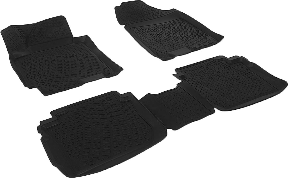 Набор автомобильных 3D-ковриков L.Locker для Kia Cerato III sd (13-), в салон, 4 шт0120110101Коврики L.Locker производятся индивидуально для каждой модели автомобиля из современного и экологически чистого материала, точно повторяют геометрию пола автомобиля, имеют высокий борт от 3 см до 4 см, обладают повышенной износоустойчивостью, антискользящими свойствами, лишены резкого запаха, сохраняют свои потребительские свойства в широком диапазоне температур (от -50°С до +80°С).