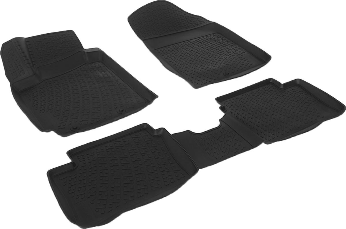 Коврики в салон автомобиля L.Locker, для Kia Picanto (11-)LGT.38.11.B12Коврики L.Locker производятся индивидуально для каждой модели автомобиля из современного и экологически чистого материала. Изделия точно повторяют геометрию пола автомобиля, имеют высокий борт, обладают повышенной износоустойчивостью, антискользящими свойствами, лишены резкого запаха и сохраняют свои потребительские свойства в широком диапазоне температур (от -50°С до +80°С). Рисунок ковриков специально спроектирован для уменьшения скольжения ног водителя и имеет достаточную глубину, препятствующую свободному перемещению жидкости и грязи на поверхности. Одновременно с этим рисунок не создает дискомфорта при вождении автомобиля. Водительский ковер с предустановленными креплениями фиксируется на штатные места в полу салона автомобиля. Новая технология системы креплений герметична, не дает влаге и грязи проникать внутрь через крепеж на обшивку пола.