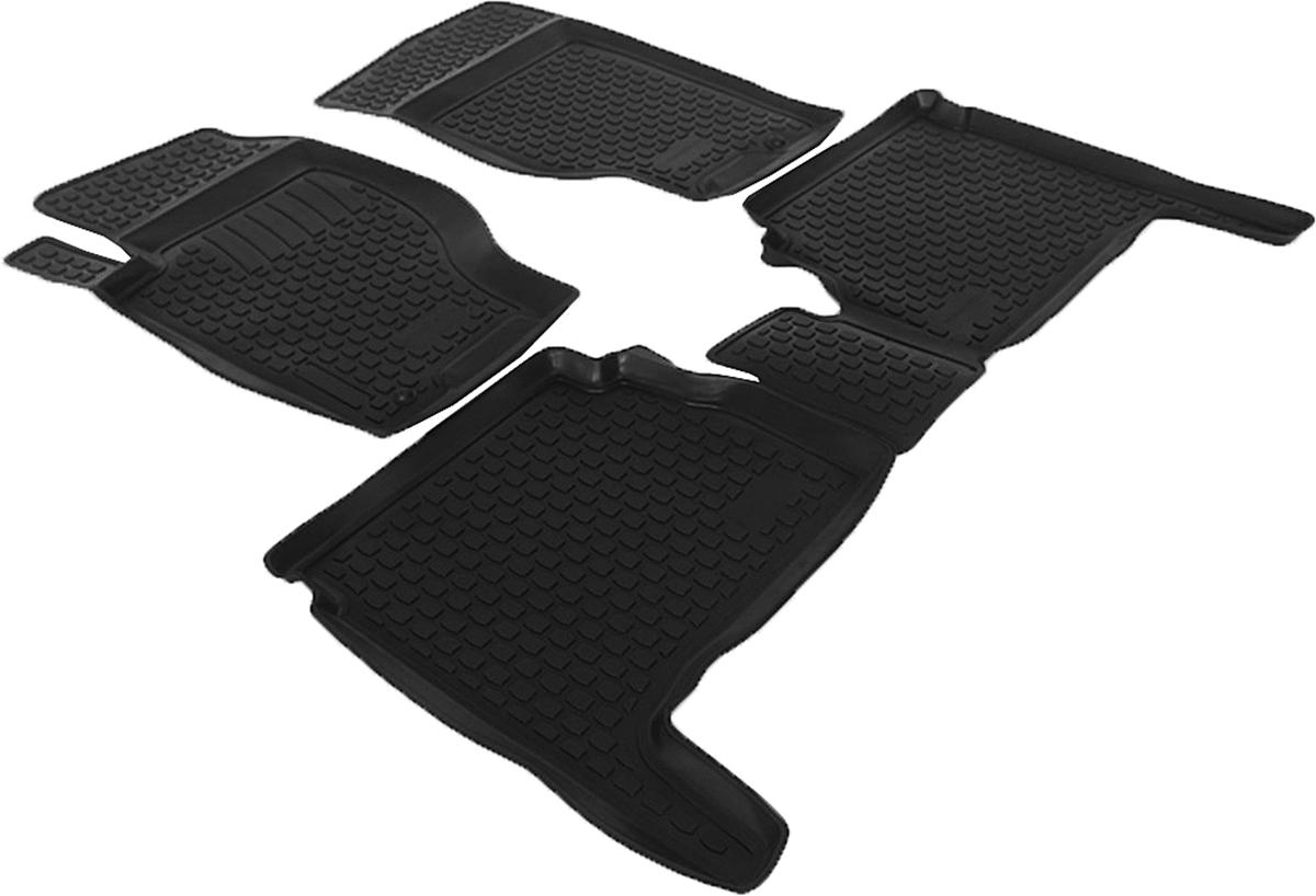 Коврики в салон автомобиля L.Locker, для Kia Sorento (02-), 4 штFS-80264Коврики L.Locker производятся индивидуально для каждой модели автомобиля из современного и экологически чистого материала. Изделия точно повторяют геометрию пола автомобиля, имеют высокий борт, обладают повышенной износоустойчивостью, антискользящими свойствами, лишены резкого запаха и сохраняют свои потребительские свойства в широком диапазоне температур (от -50°С до +80°С). Рисунок ковриков специально спроектирован для уменьшения скольжения ног водителя и имеет достаточную глубину, препятствующую свободному перемещению жидкости и грязи на поверхности. Одновременно с этим рисунок не создает дискомфорта при вождении автомобиля. Водительский ковер с предустановленными креплениями фиксируется на штатные места в полу салона автомобиля. Новая технология системы креплений герметична, не дает влаге и грязи проникать внутрь через крепеж на обшивку пола.