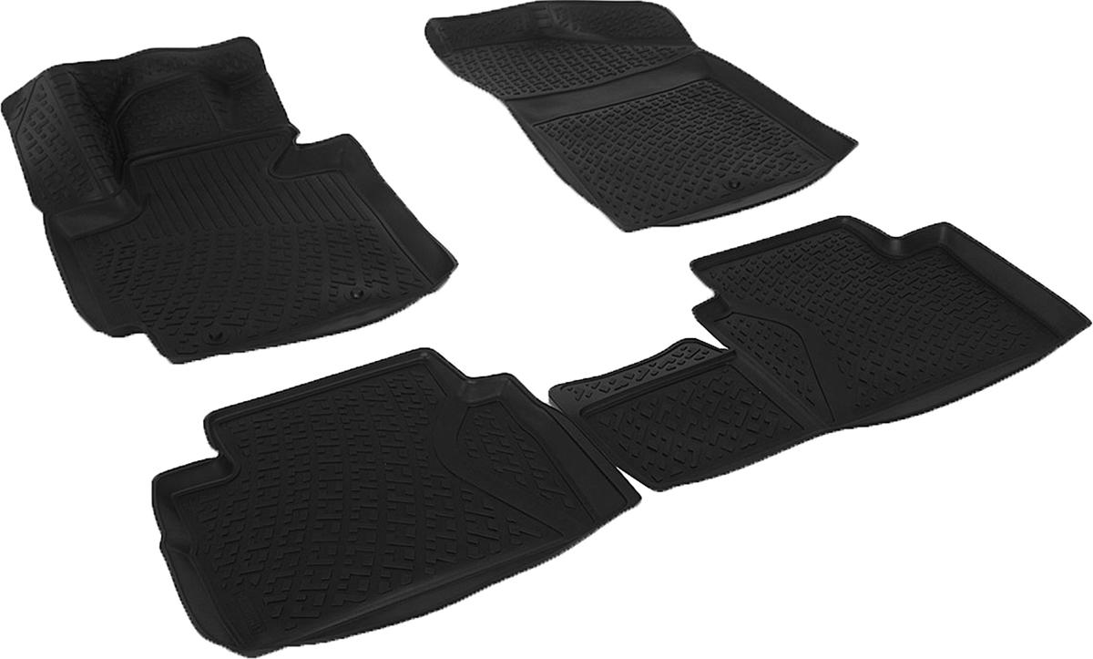 Коврики в салон автомобиля L.Locker, для Kia Soul II (13-)0207130101Коврики L.Locker производятся индивидуально для каждой модели автомобиля из современного и экологически чистого материала. Изделия точно повторяют геометрию пола автомобиля, имеют высокий борт, обладают повышенной износоустойчивостью, антискользящими свойствами, лишены резкого запаха и сохраняют свои потребительские свойства в широком диапазоне температур (от -50°С до +80°С). Рисунок ковриков специально спроектирован для уменьшения скольжения ног водителя и имеет достаточную глубину, препятствующую свободному перемещению жидкости и грязи на поверхности. Одновременно с этим рисунок не создает дискомфорта при вождении автомобиля. Водительский ковер с предустановленными креплениями фиксируется на штатные места в полу салона автомобиля. Новая технология системы креплений герметична, не дает влаге и грязи проникать внутрь через крепеж на обшивку пола.