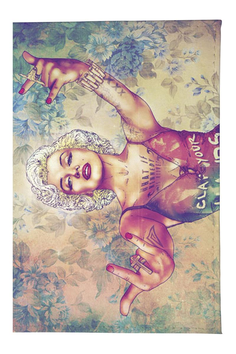 Mitya Veselkov Обложка для автодокументов Мерлин+Мадонна. AUTOZAM0943335-A/Burgundy-BeigeРазмер изделия:13,8 х 9,5 см.