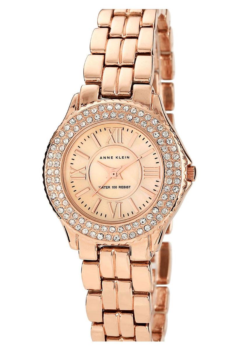 Наручные часы женские Anne Klein, цвет: золотистый, розовый. 9536RMRGBM8434-58AEОригинальные и качественные часы Anne Klein