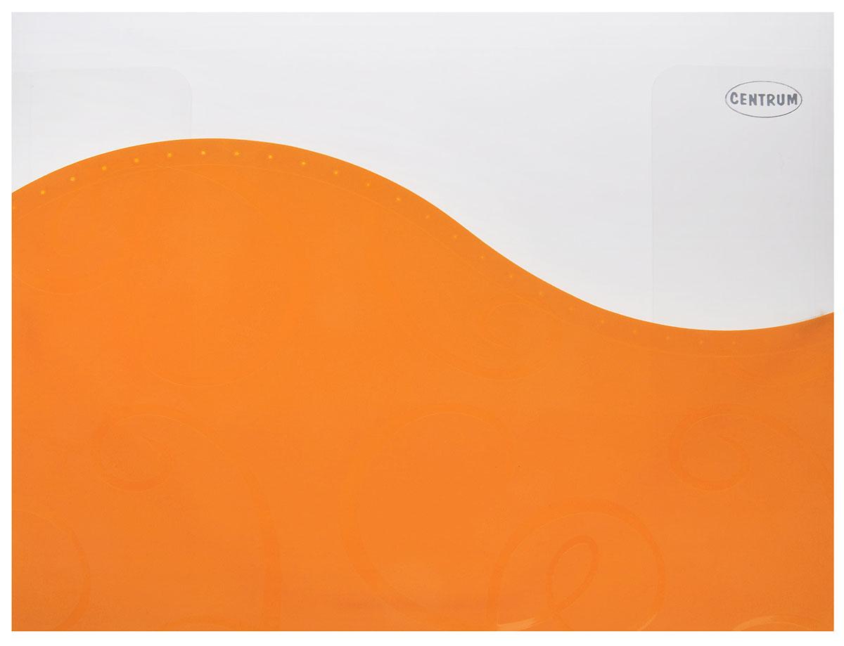 Centrum Папка пластиковая на резинке цвет оранжевыйDC202-06Папка пластиковая на резинке Centrum станет вашим верным помощником дома и в офисе.Это удобный и функциональный инструмент, предназначенный для хранения и транспортировки больших объемов рабочих бумаг и документов формата А4. Папка изготовлена из износостойкого высококачественного пластика. Состоит из одного вместительного отделения. Закрывается папка при помощи прочной резинки.Папка - это незаменимый атрибут для любого студента, школьника или офисного работника. Такая папка надежно сохранит ваши бумаги и сбережет их от повреждений, пыли и влаги.
