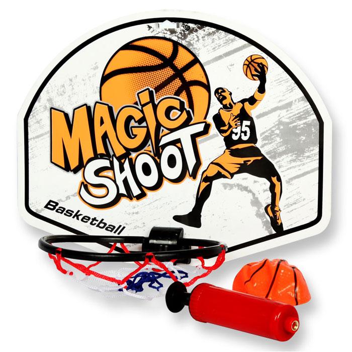 YG Sport Детская игра Баскетбол щит с кольцом 37 х 28 см