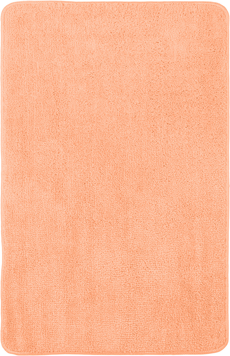 Коврик для ванной комнаты Home Queen, цвет: персиковый, 80 х 50 см391602Коврик для ванной Home Queen изготовлен из микрофибры с латексной основой. Волокно микрофибры превосходно впитывает влагу и создает комфортное, мягкое покрытие. Коврик, выполненный в однотонном сочном цвете, создаст уют и комфорт в ванной комнате. Длинный ворс мягко соприкасается с кожей стоп, вызывая только приятные ощущения. Рекомендации по уходу: - стирать в ручном режиме, - не использовать отбеливатели, - не гладить.