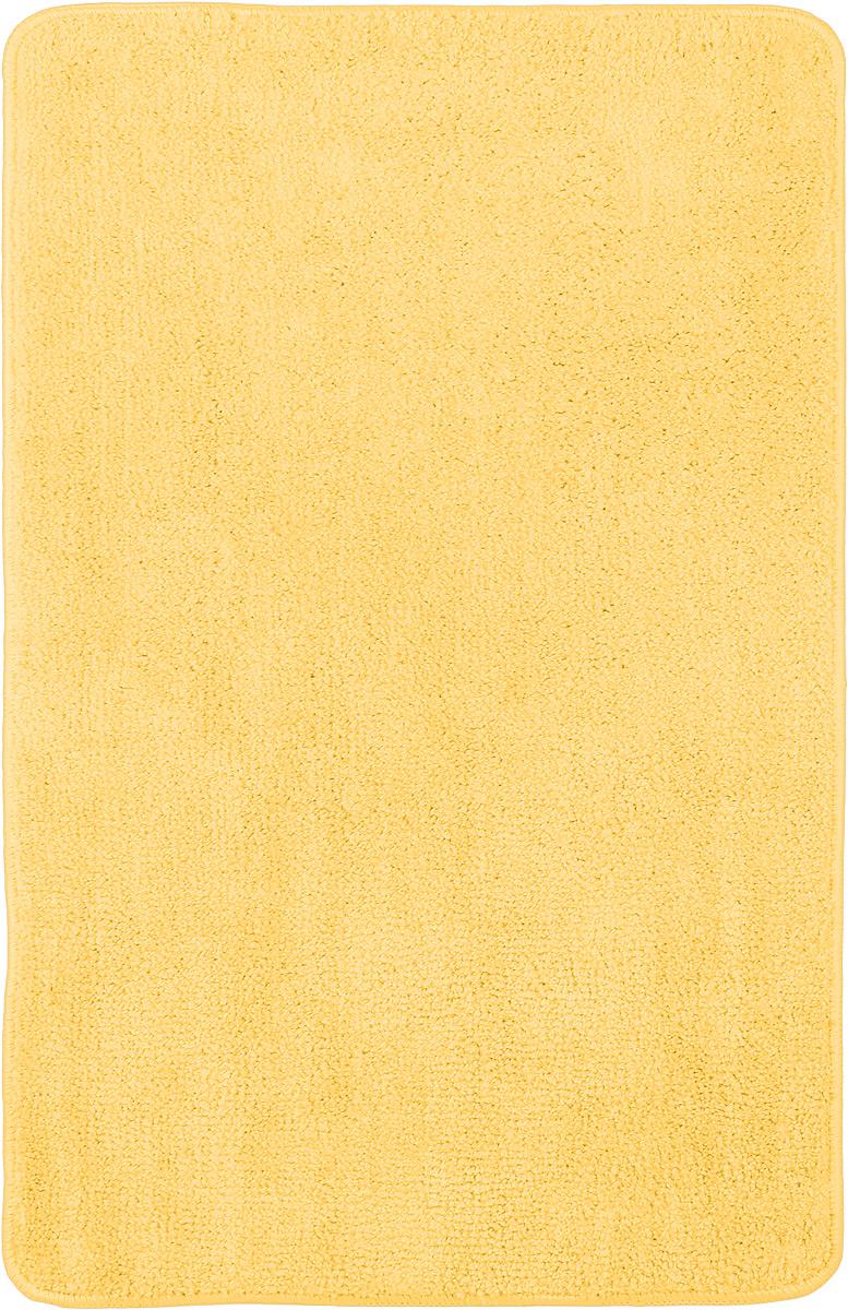 Коврик для ванной комнаты Home Queen, цвет: желтый, 80 х 50 см391602Коврик для ванной Home Queen изготовлен из микрофибры с латексной основой. Волокно микрофибры превосходно впитывает влагу и создает комфортное, мягкое покрытие. Коврик, выполненный в однотонном сочном цвете, создаст уют и комфорт в ванной комнате. Длинный ворс мягко соприкасается с кожей стоп, вызывая только приятные ощущения. Рекомендации по уходу: - стирать в ручном режиме, - не использовать отбеливатели, - не гладить.