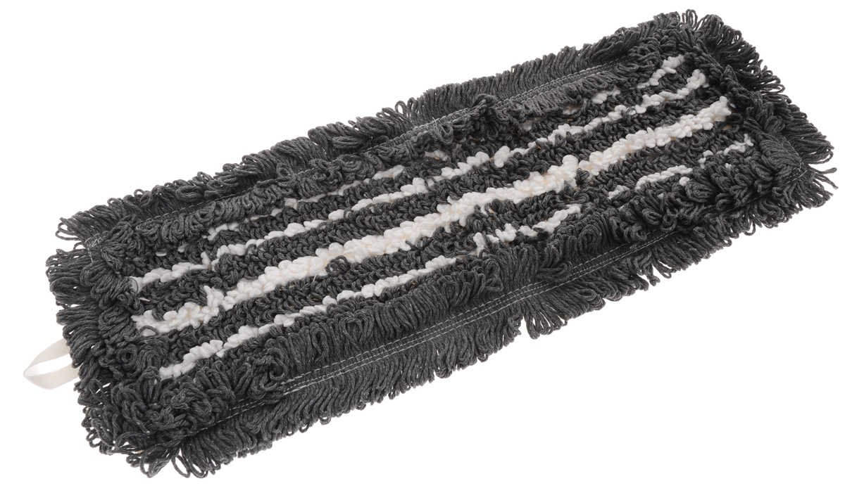 Сменная насадка для швабры Hausmann Eco-micro, цвет: серый, белый, 41 х 11,5 см531-105Сменная насадка к швабрам Hausmann Eco-micro изготовлена из хлопка и микрофибры. Насадка эффективно очищает от сильных загрязнений любые виды напольных покрытий. Стойкая к воздействию моющих средств. Можно стирать в стиральной машине при температуре 60°С.Размер насадки: 41 х 11,5 см.Длина волокна: 2,5 см.