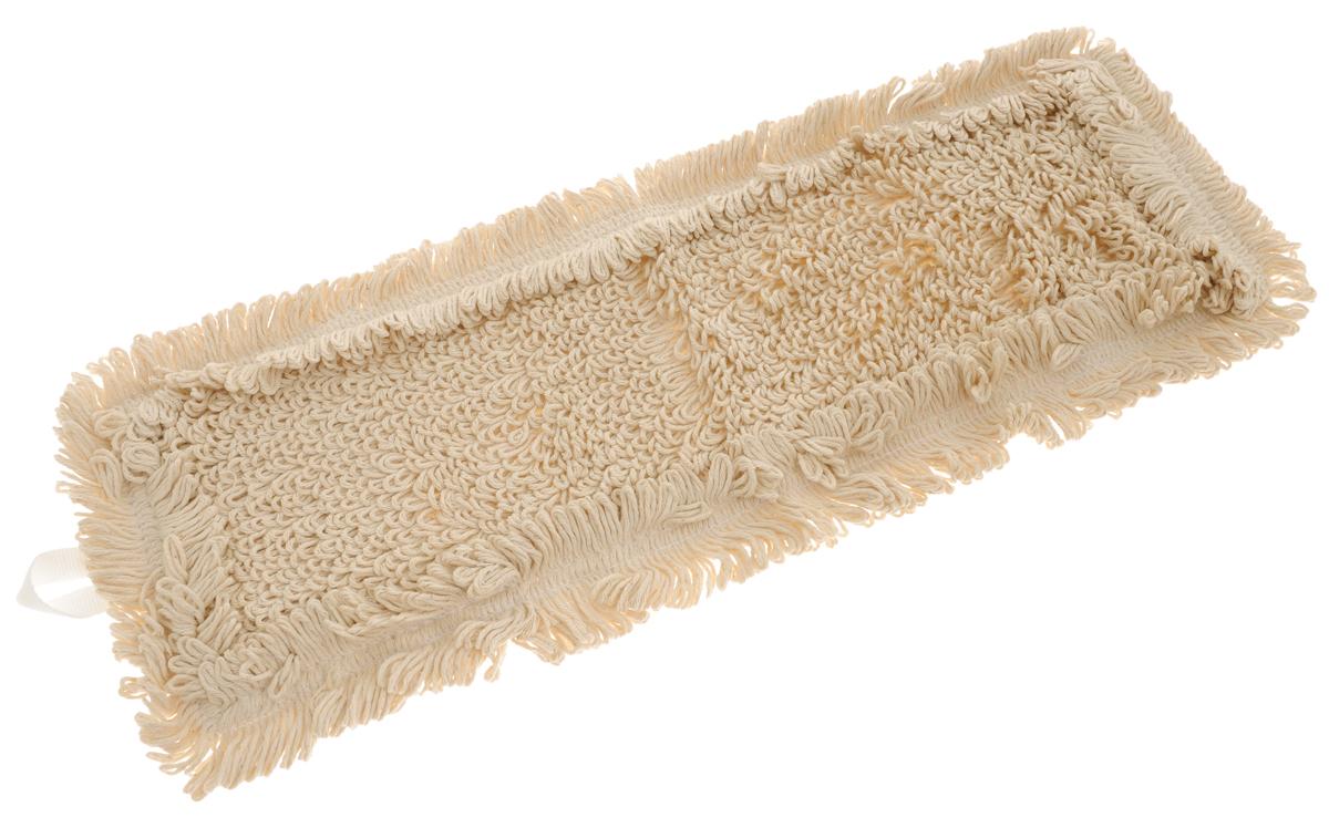 Сменная насадка для швабры Hausmann Eco-perfect, цвет: бежевый, 45 х 13 см98299571Сменная насадка к швабрам Hausmann Eco-perfect изготовлена из хлопка. Насадка эффективно очищает от сильных загрязнений любые виды напольных покрытий. Стойкая к воздействию моющих средств. Можно стирать в стиральной машине при температуре 60°С.Размер насадки: 45 х 13 см.Длина волокна: 2,5 см.