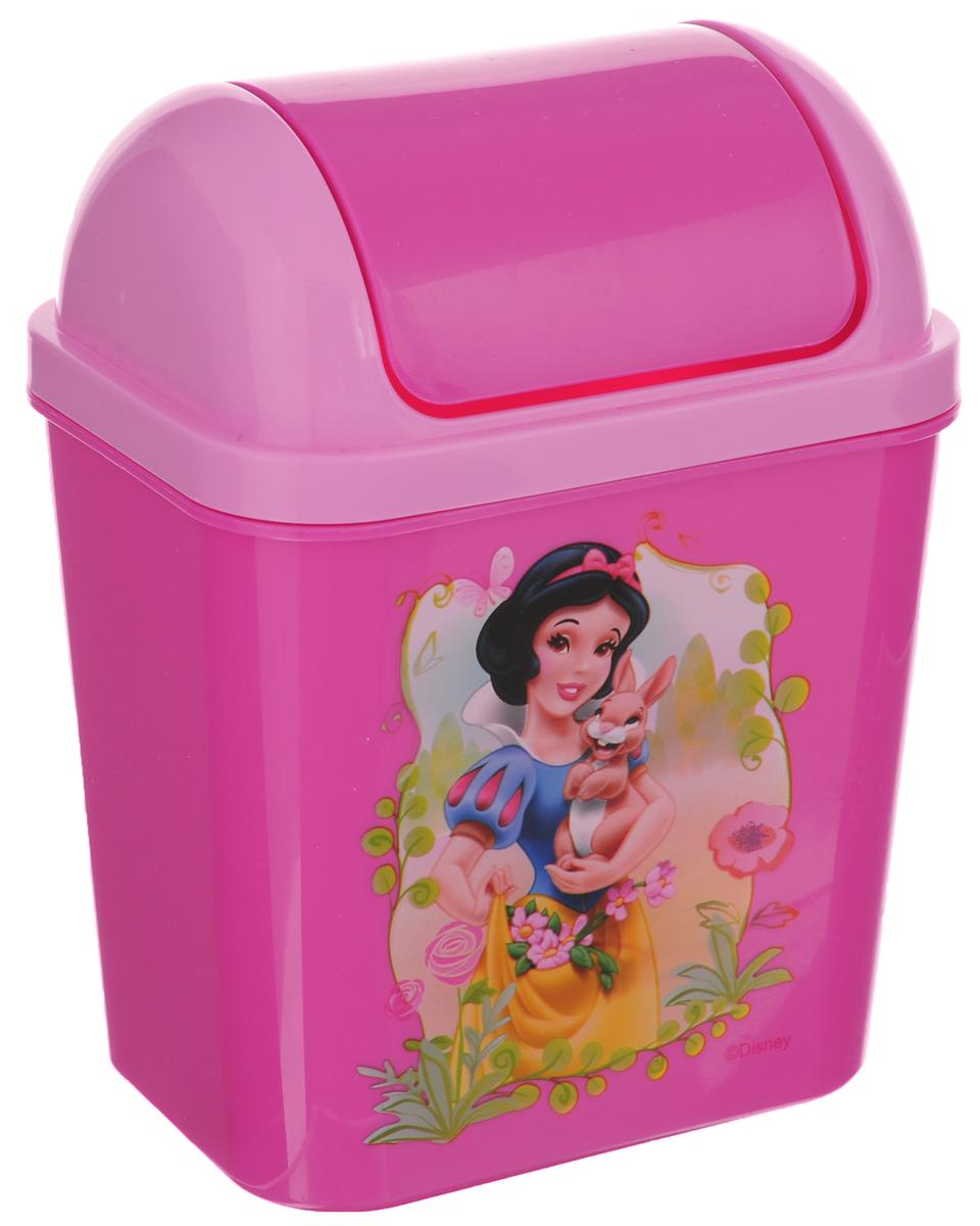 Контейнер для мусора Полимербыт Принцессы. Феи, 800 мл41619Детский контейнер для мусора Полимербыт Принцессы. Феи выполнен из высококачественного пластика и украшен изображением героя мультфильма. Изделие оснащено плавающей крышкой. Такой контейнер подойдет для выбрасывания небольших отходов, таких как бумага, стружка карандаша, фантики.Размер контейнера (с учетом крышки): 11,5 х 8 х 15 см.Размер контейнера (без учета крышки): 11,5 х 8 х 11 см.