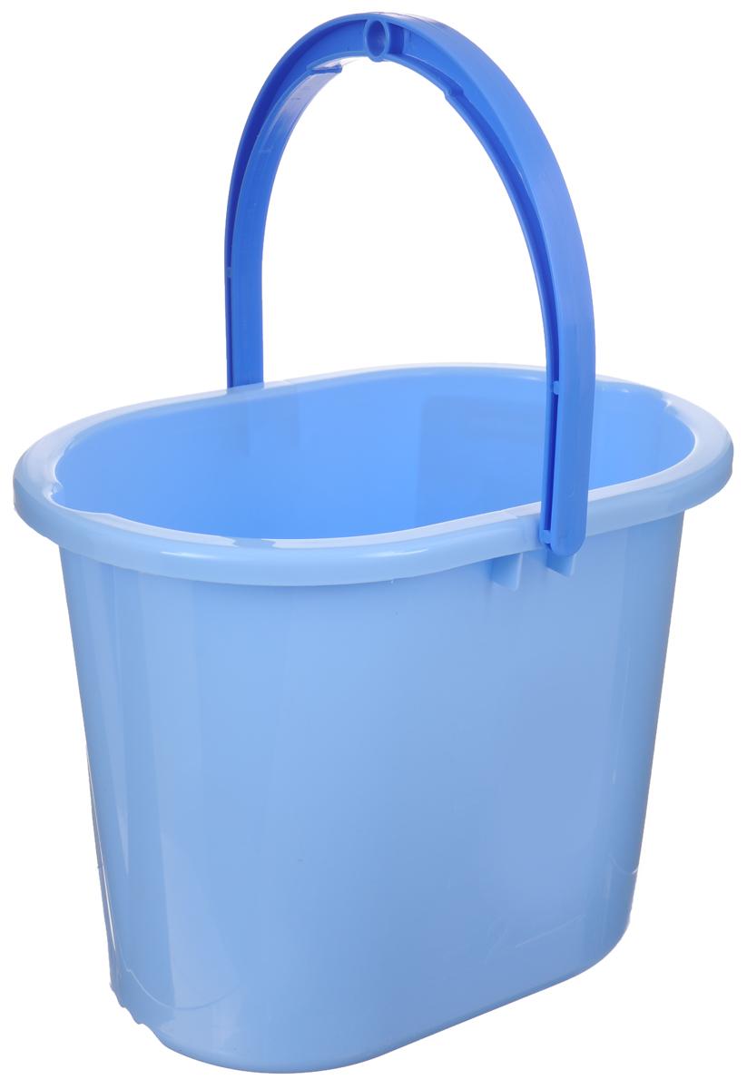 Ведро для мытья полов Hausmann, цвет: голубой, 10 лKOC_SOL249_G4Ведро Hausmann, изготовленное из прочного цветного пластика, порадует практичных хозяек. Оно легче железного и не подвергается коррозии. Для удобного использования ведро оснащено эргономичной ручкой.Такое ведро станет незаменимым помощником в хозяйстве. Размер (по верхнему краю): 34 х 24 см.Высота (без учета ручки): 27 см.