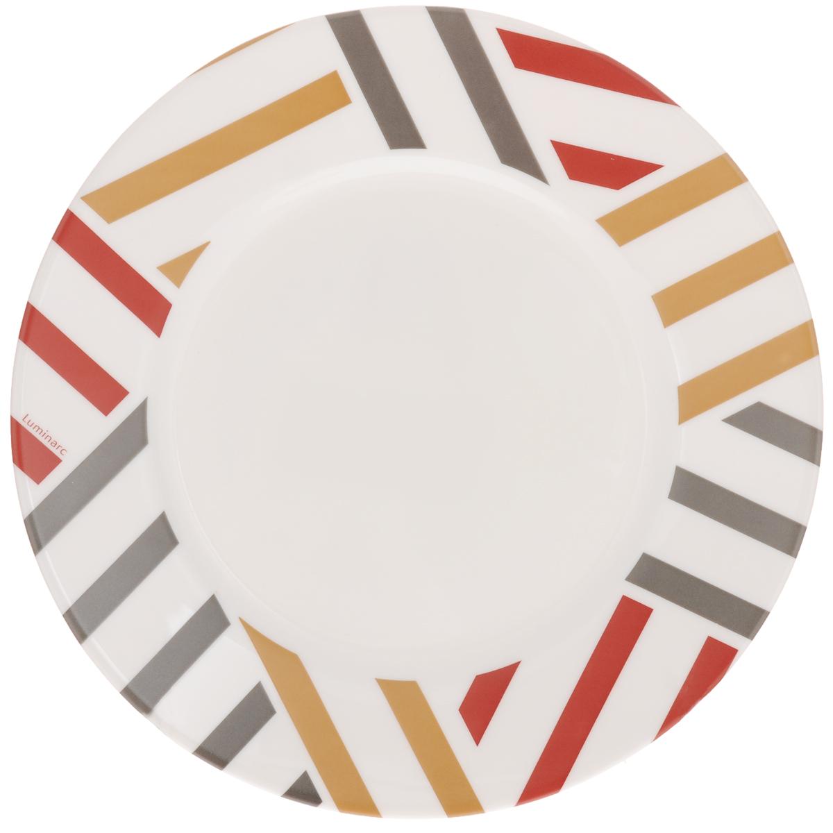 Тарелка десертная Luminarc Balnea, диаметр 19 см115510Десертная тарелка Luminarc Balnea изготовлена из ударопрочного стекла. Такая тарелка прекрасно подходит как для торжественных случаев, так и для повседневного использования. Идеальна для подачи десертов, пирожных, тортов и многого другого. Она прекрасно оформит стол и станет отличным дополнением к вашей коллекции кухонной посуды. Диаметр тарелки (по верхнему краю): 19 см.