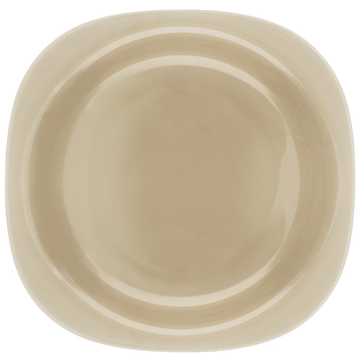 Тарелка глубокая Luminarc Carine Eclipse, 21 х 21 смFS-91909Глубокая тарелка Luminarc Carine Eclipse выполнена изударопрочного стекла и оформлена в классическом стиле.Изделие сочетает в себе изысканный дизайн с максимальнойфункциональностью. Она прекрасно впишется винтерьер вашей кухни и станет достойным дополнениемк кухонному инвентарю. Тарелка Luminarc Carine Eclipse подчеркнет прекрасный вкус хозяйкии станет отличным подарком. Размер (по верхнему краю): 21 х 21 см.