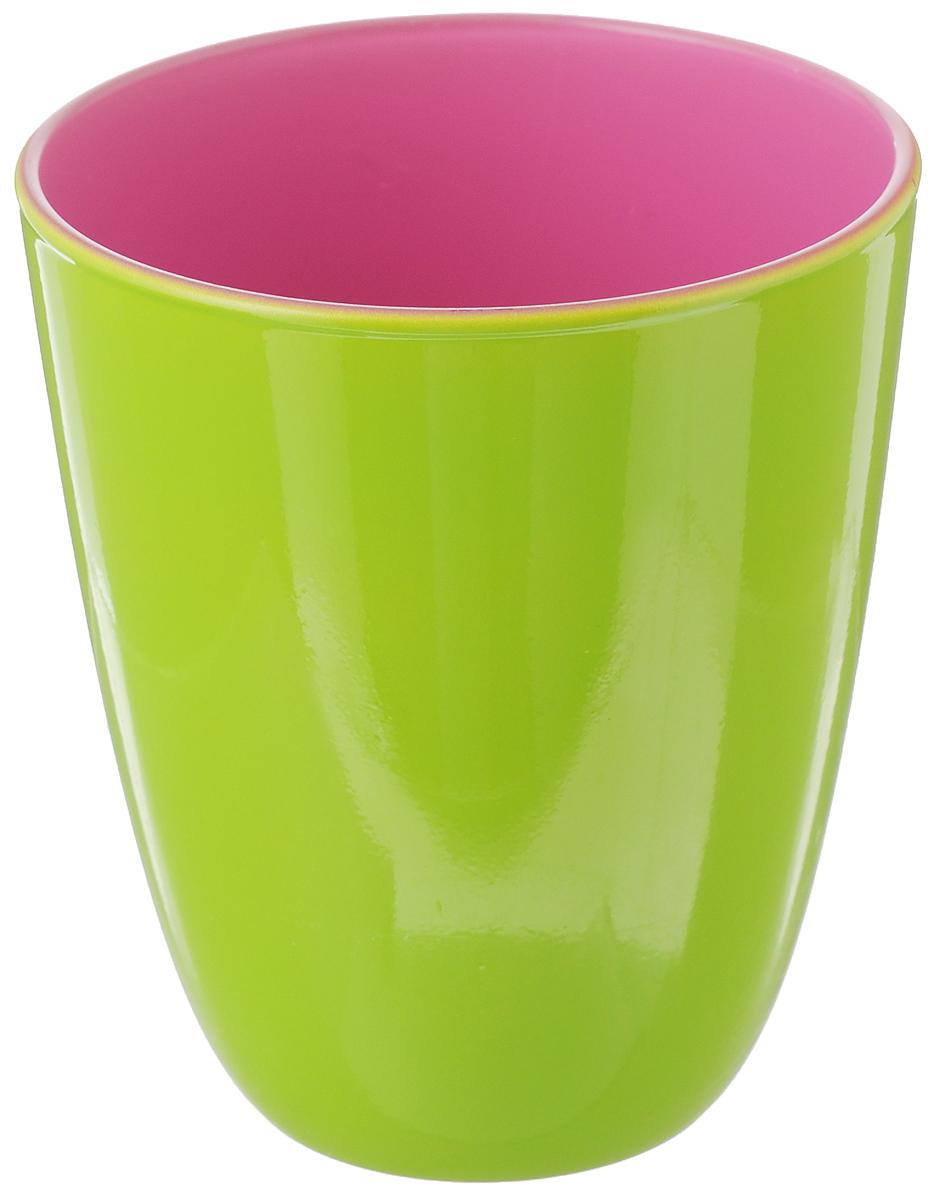 Стакан Luminarc Spring Break, цвет: салатовый, брусничный, 310 млVT-1520(SR)Стакан Luminarc Spring Break изготовлен из высококачественного стекла. Такой стакан прекрасно подойдет для горячих и холодных напитков. Он дополнит коллекцию вашей кухонной посуды и будет служить долгие годы. Можно мыть в посудомоечной машине. Диаметр стакана (по верхнему краю): 8,5 см. Высота: 10 см.