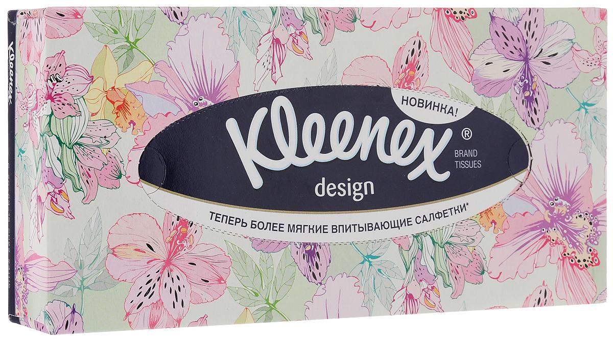Салфетки универсальные Kleenex Design. Цветы, двухслойные, 70 шт9103500790Двухслойные, мягкие, гигиенические салфетки Kleenex Design. Цветы изготовлены из высококачественного, экологически чистого сырья - 100% первичной целлюлозы. Салфетки обладают большой впитывающей способностью. Не вызывают аллергию, не раздражают чувствительную кожу. Благодаря уникальной мягкости, салфетки заботятся о вашей коже во время простуды. Просты и удобны в использовании. Применяются дома и в офисе, на работе и отдыхе. Для хранения салфеток предусмотрена специальная коробочка. Выберите себе настроение! Как всегда разные: яркие и спокойные, задорные и утонченные коробочки с салфетками Kleenex Design. Цветы найдут свое место в любом уголке вашей квартиры и добавят в ваш дом теплоты и уюта даже в самый хмурый день. Товар сертифицирован.Размер салфетки: 21,6 х 21,6 см. Комплектация: 70 шт.