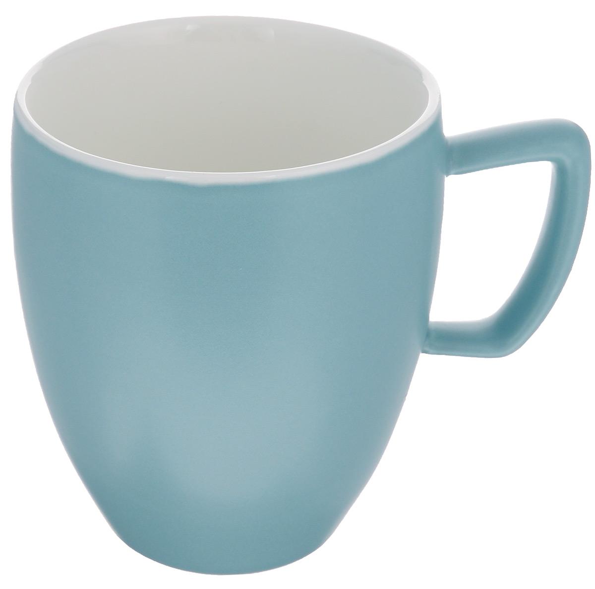 Кружка Tescoma Crema Tone, цвет: серо-голубой, 300 мл387146_серо-голубойКружка Tescoma Crema Tone, изготовленная из высококачественного фарфора, прекрасно дополнит интерьер вашей кухни. Изящный дизайн кружки придется по вкусу и ценителям классики, и тем, кто предпочитает утонченность и изысканность. Кружка Tescoma Crema Tone станет хорошим подарком к любому празднику. Диаметр (по верхнему краю): 8 см.Высота: 10 см.