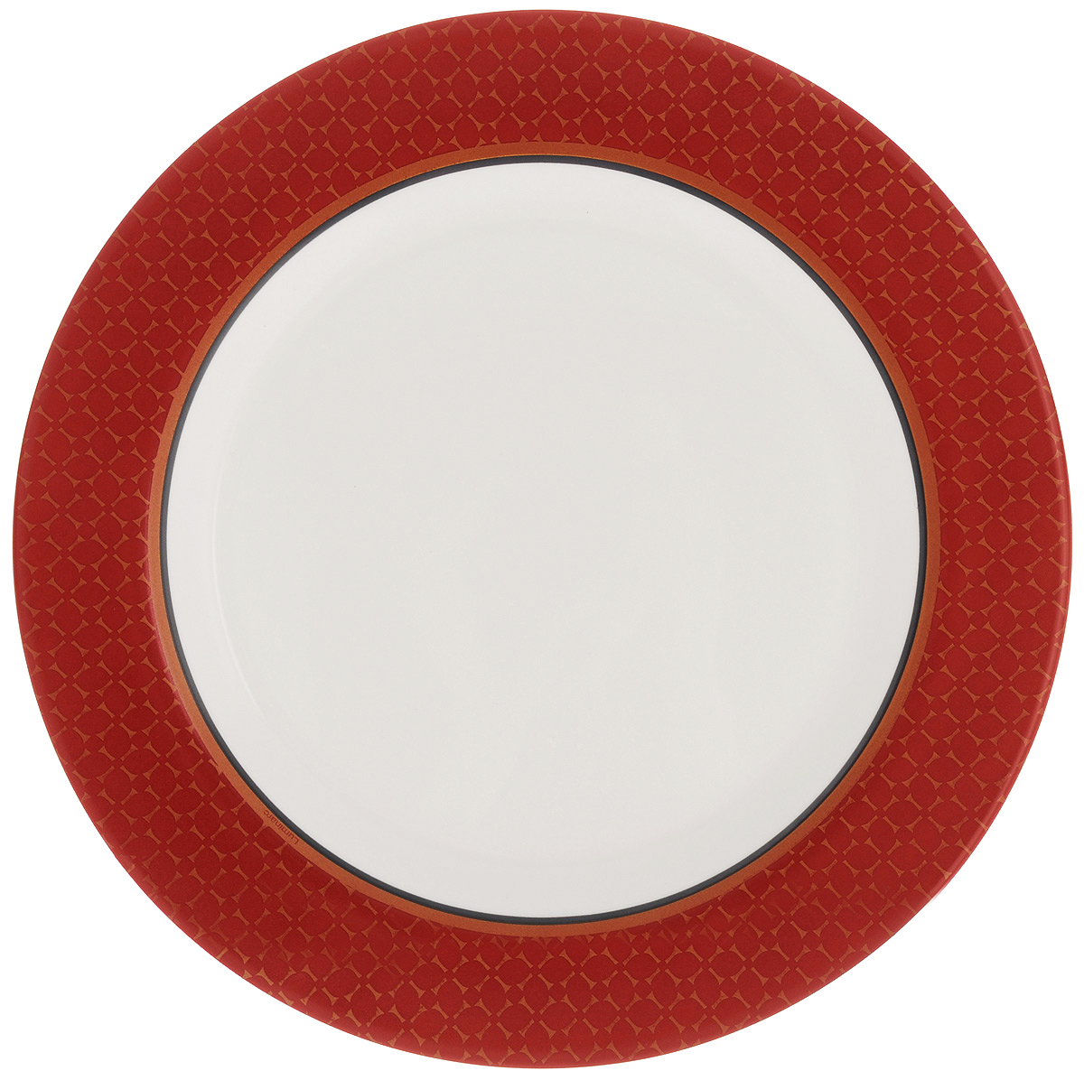 Тарелка обеденная Luminarc Alto, диаметр 27,5 см115510Обеденная тарелка Luminarc Alto, изготовленная из высококачественного стекла, имеет изысканный внешний вид. Яркий дизайн придется по вкусу и ценителям классики, и тем, кто предпочитает утонченность. Тарелка Luminarc Alto идеально подойдет для сервировки стола и станет отличным подарком к любому празднику.Диаметр (по верхнему краю): 27,5 см.