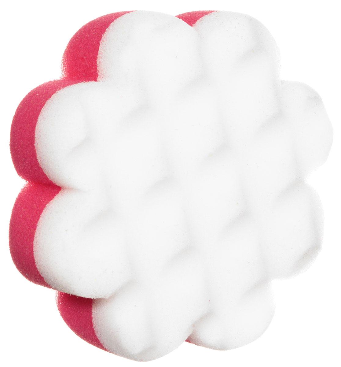 Курносики Мочалка с массажным слоем Цветок цвет розовый белый747_бирюзовыйМочалка Курносики в форме цветка обеспечивает мягкий уход за кожей малыша при купании и отлично взбивает мыльную пену. Детская мочалка имеет форму, комфортную для рук, а также массажный слой, помогающий удалять загрязнения. Такая мочалка поможет вам провести купание малыша мягко и комфортно.Мочалка с массажным слоем Курносики прослужит вам длительно, радуя вас и вашего малыша.
